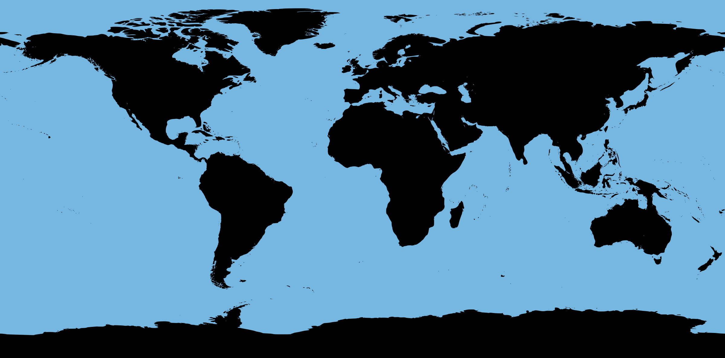 Bathymetry Map - Outline by j4p4n