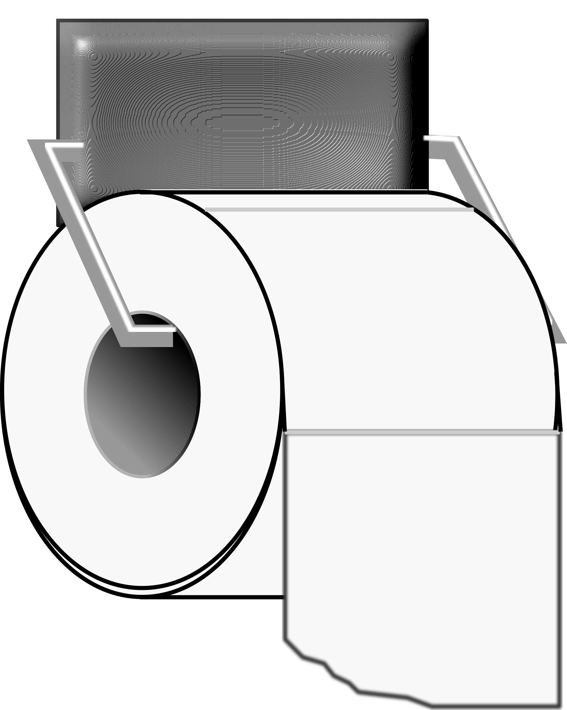 Roll of Toilet Paper by algotruneman