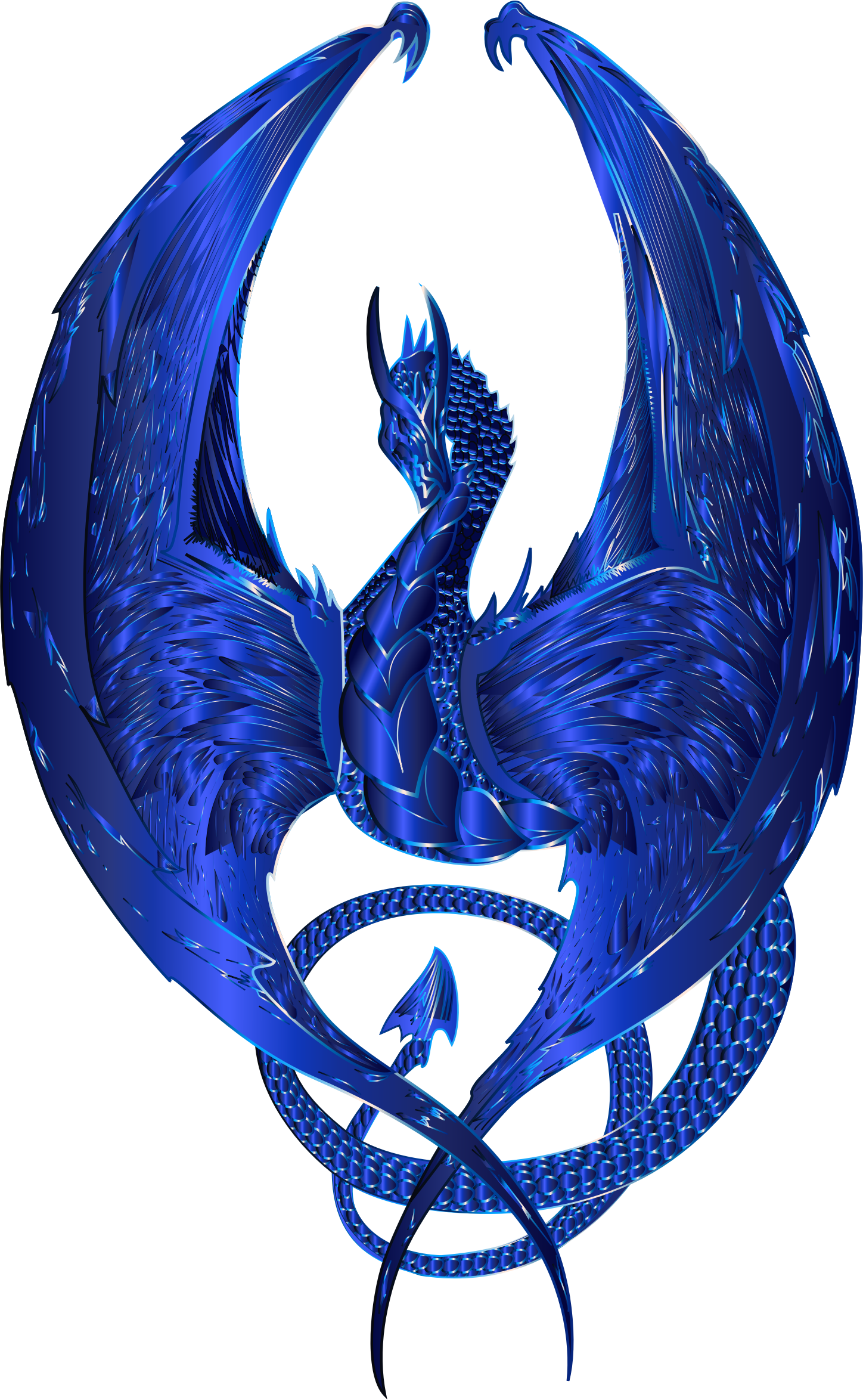 Cobalt Wyvern by GDJ