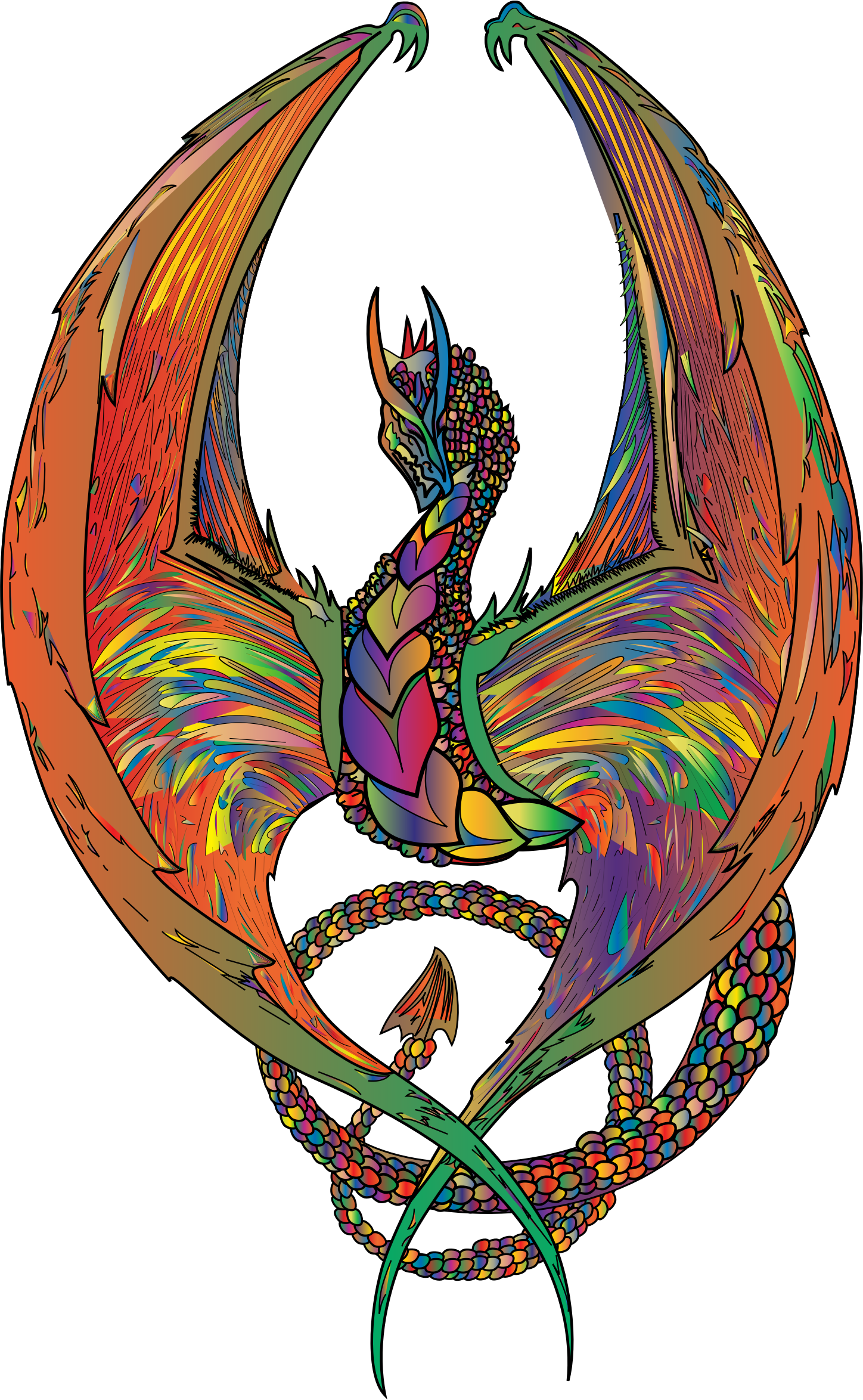 Prismatic Wyvern by GDJ