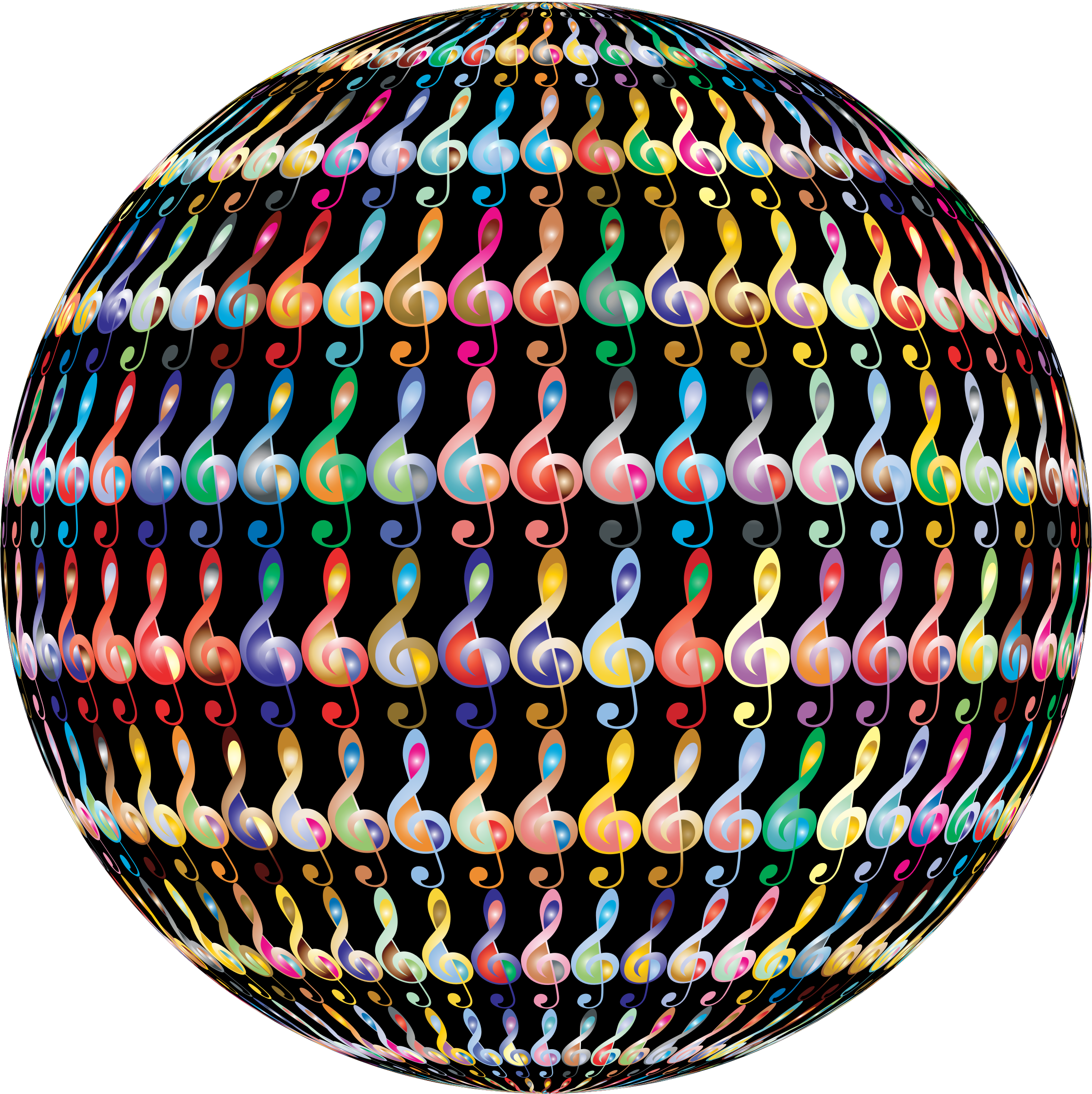 Clef Sphere Prismatic 2 With BG by GDJ