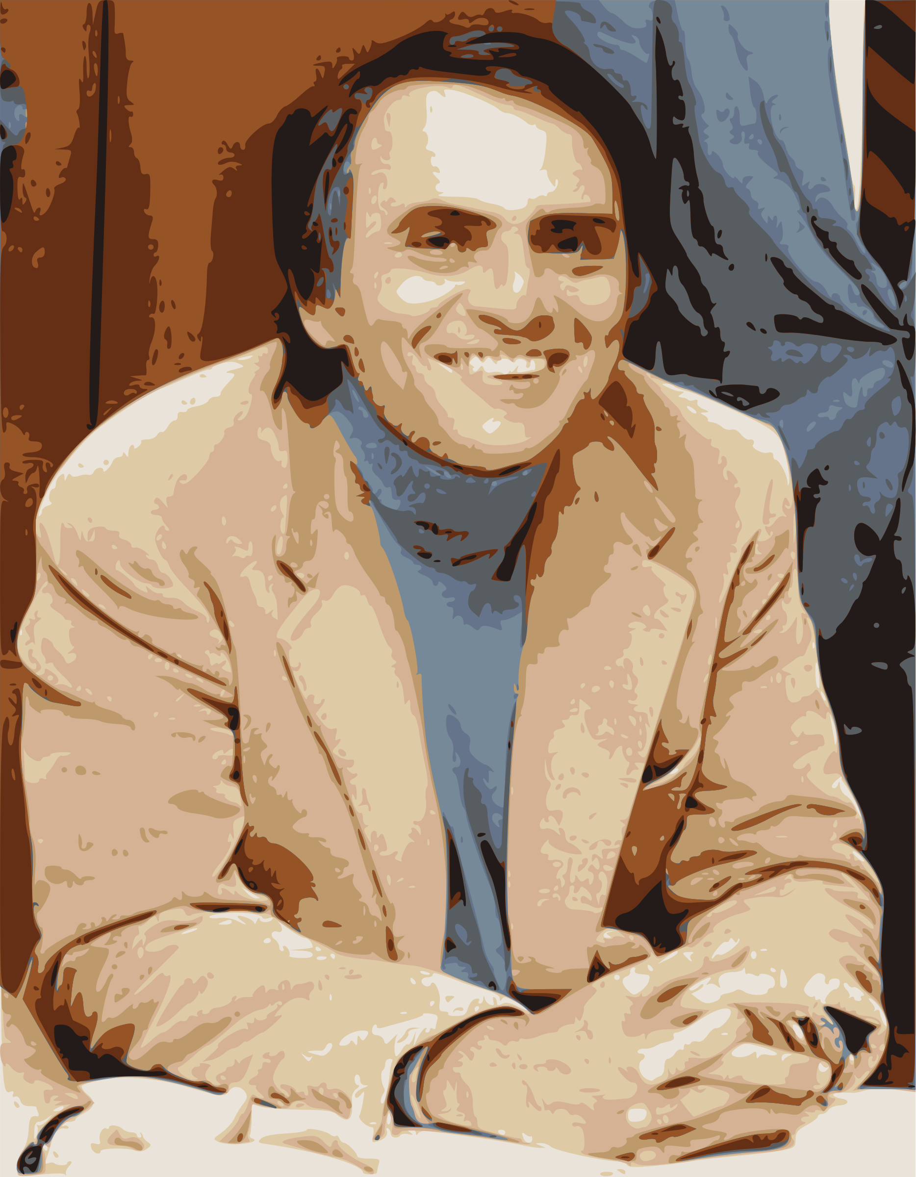 Carl Sagan by j4p4n