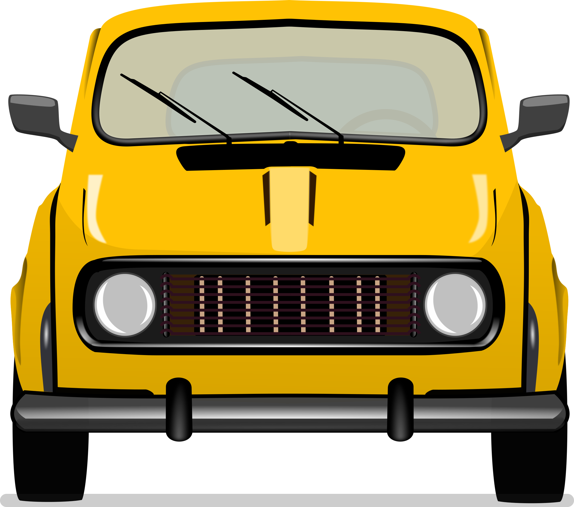 Car Frontview Vintage Old - Remix by monsterbraingames