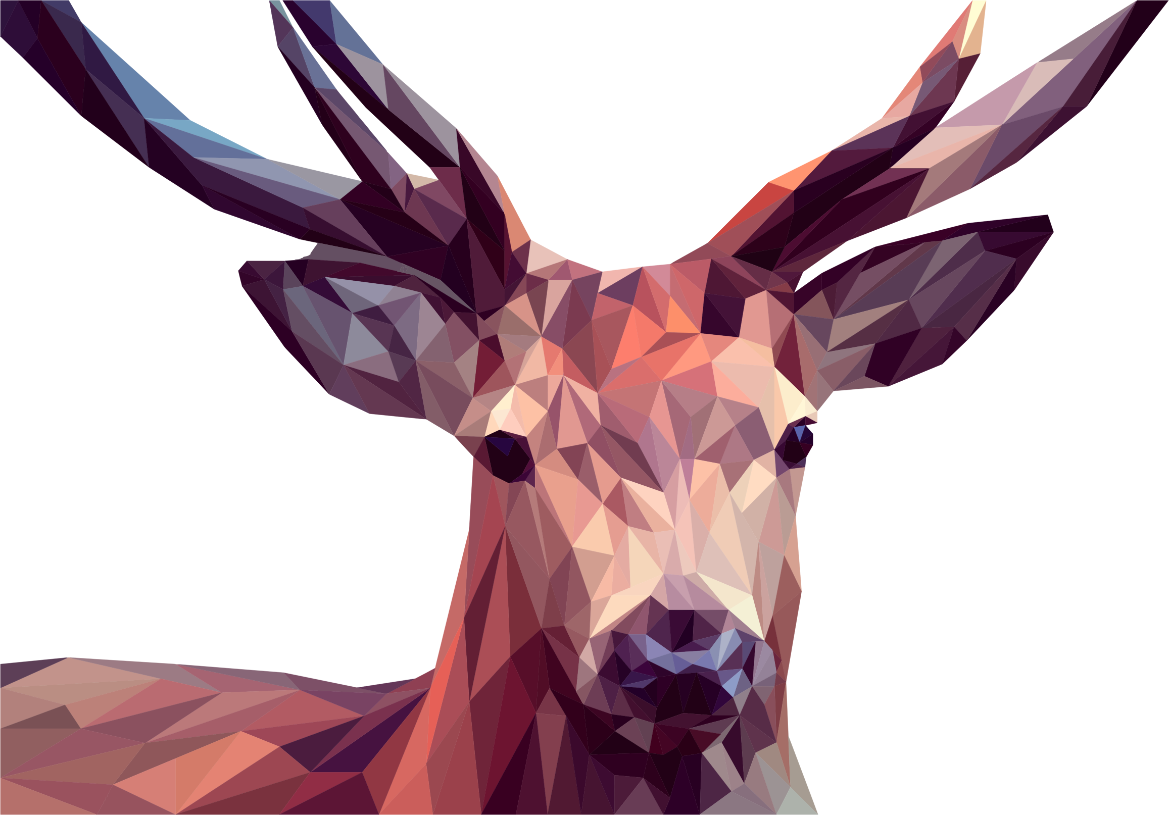 Low Poly Deer by GDJ