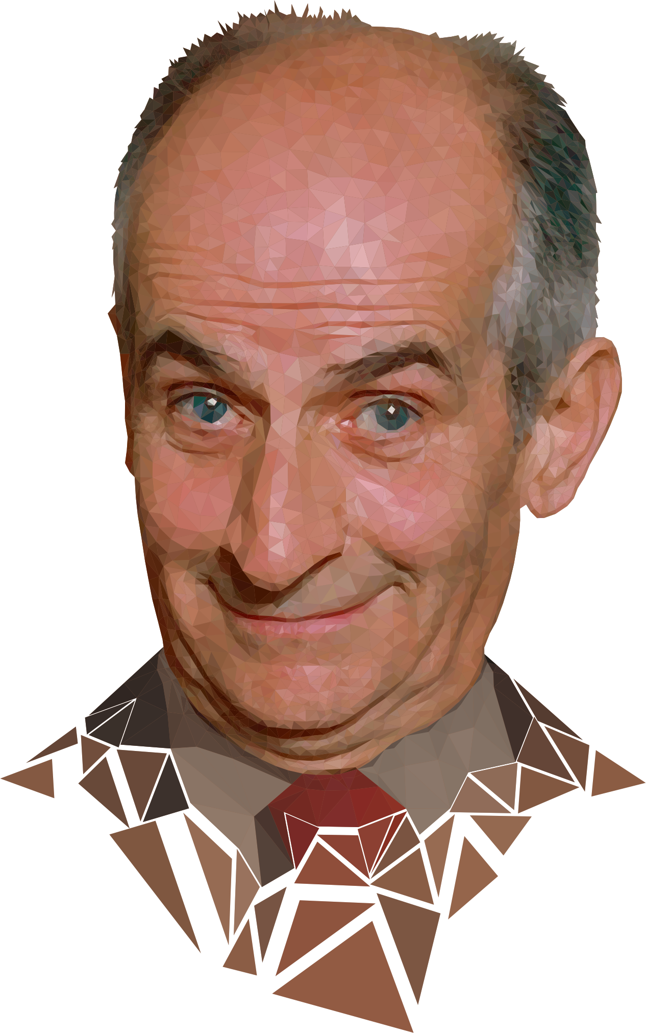 Low poly Louis de Funès by Gorkhs