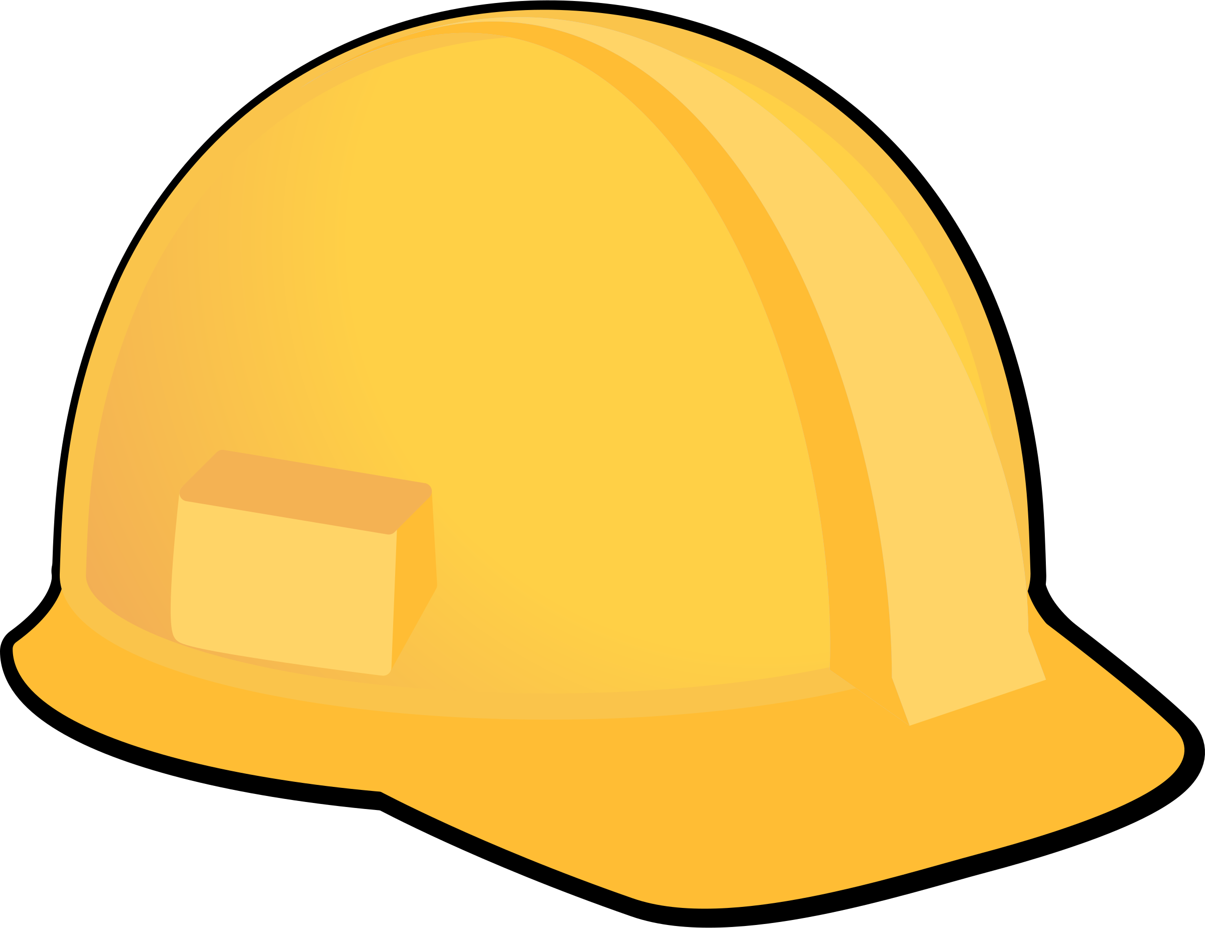 Yellow Hard Hat by Magnesus