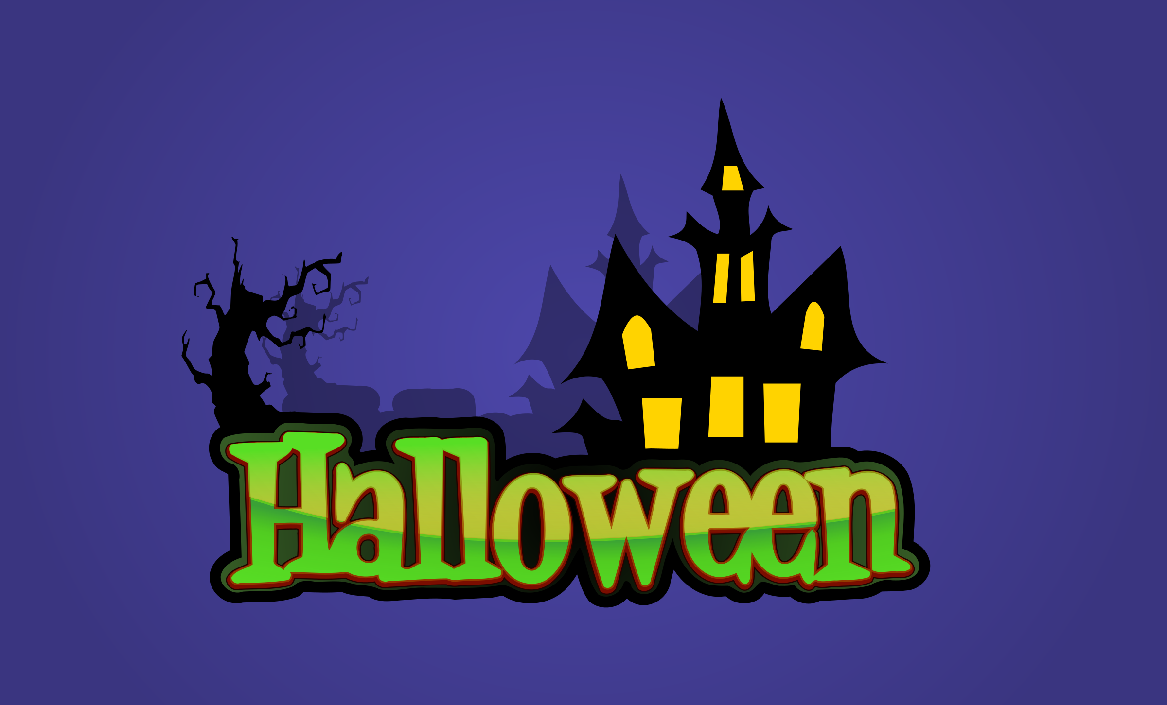 Halloween Logo - remix by Magnesus