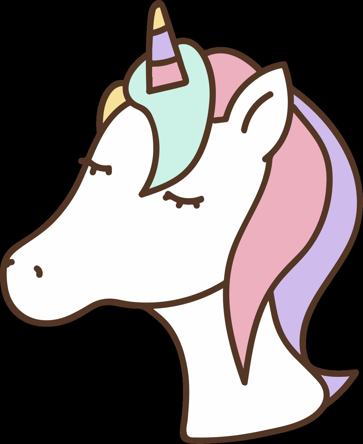 cute unicorn clipart - HD840×1067