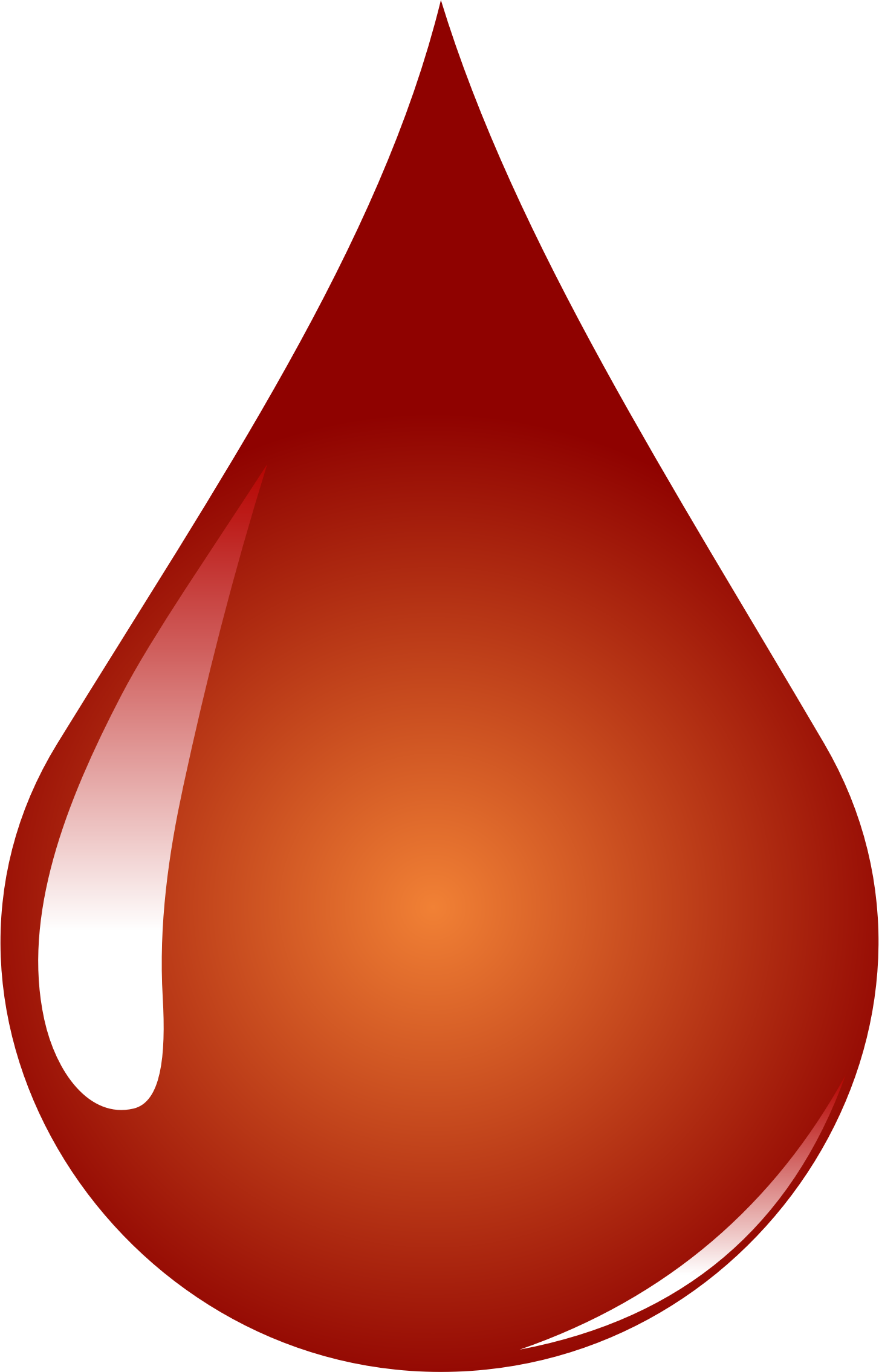 Blood Drop by GDJ