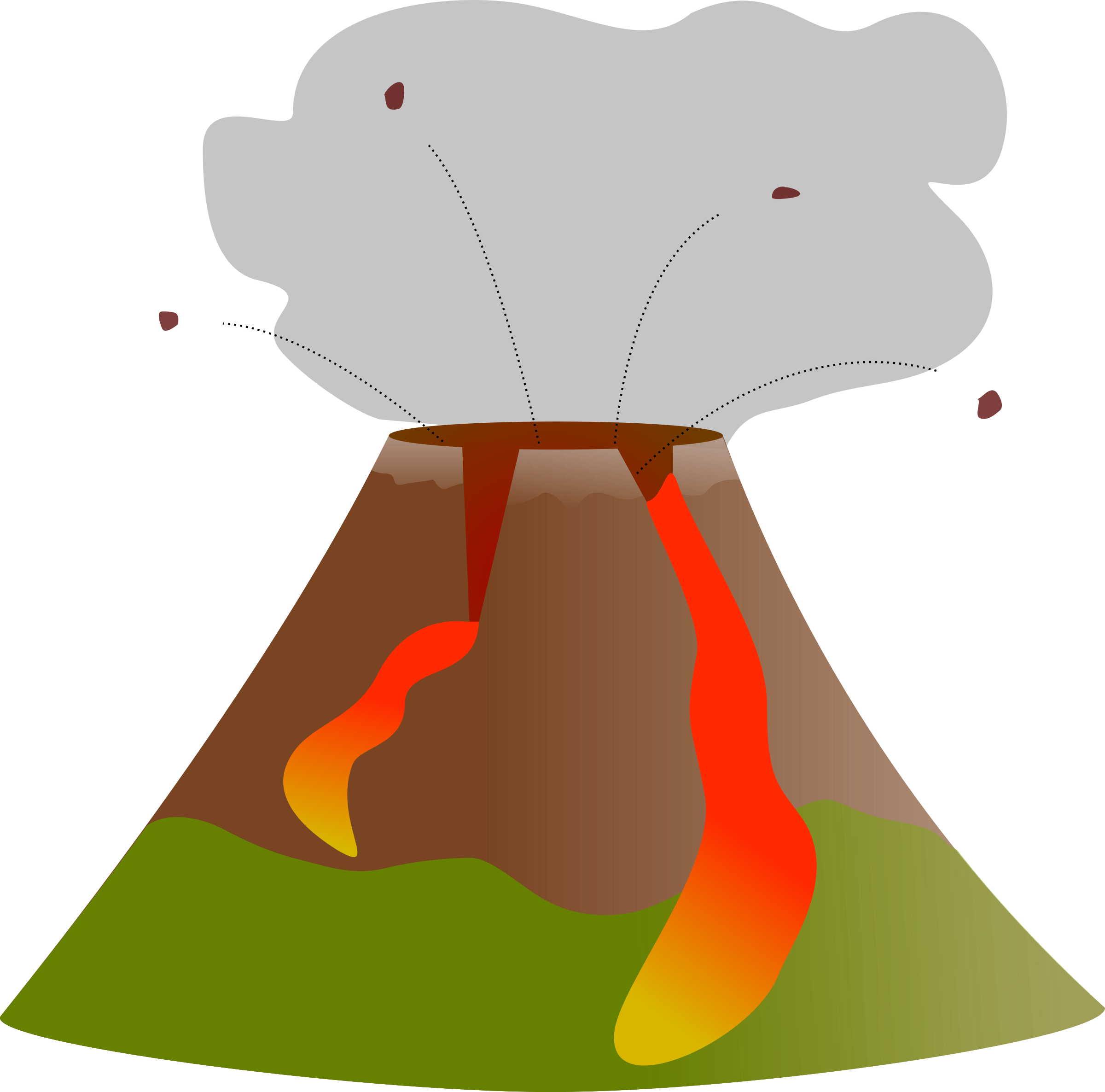 Volcano Diagram by j4p4n