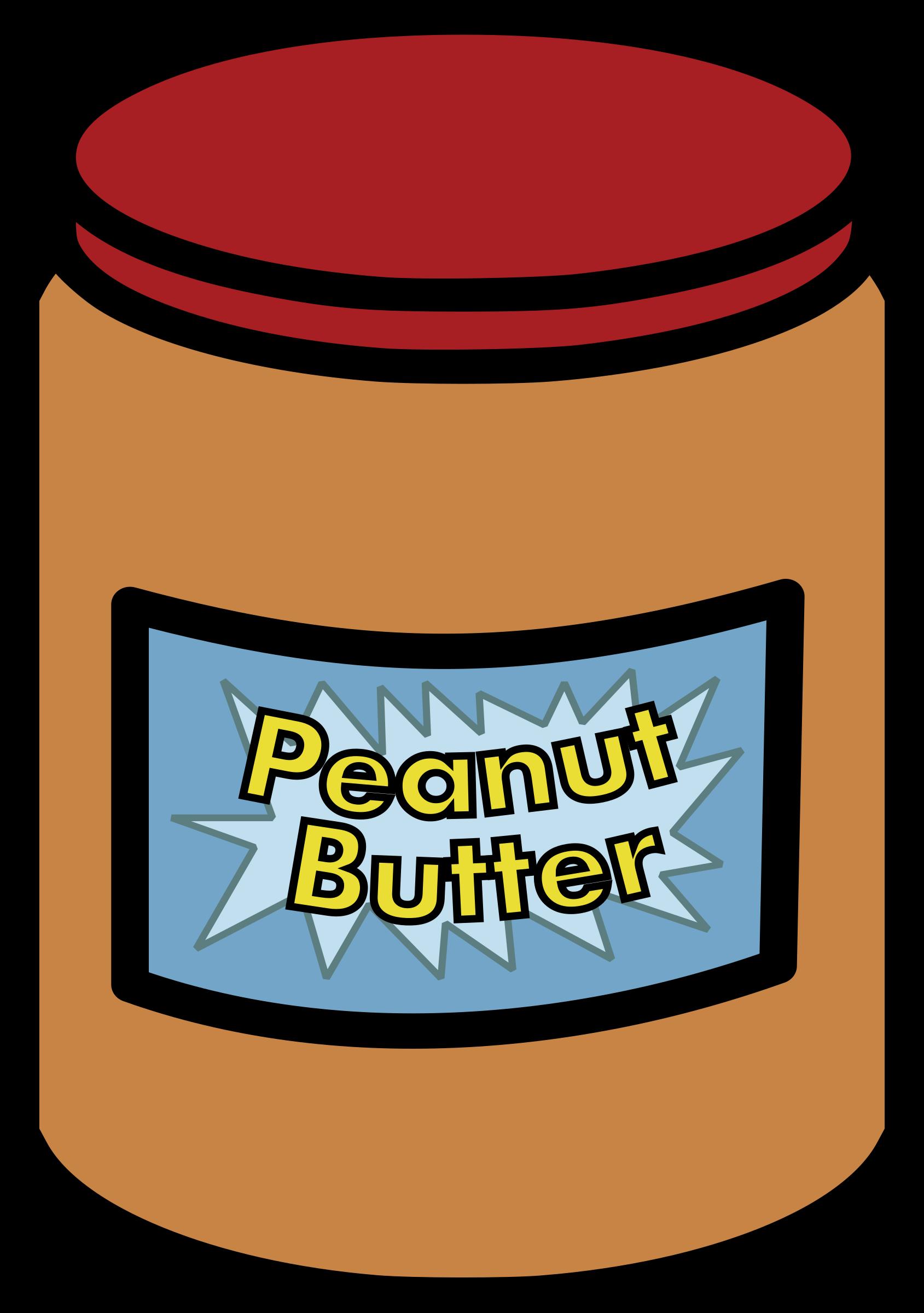 Clipart - Peanut Butter Jar 2