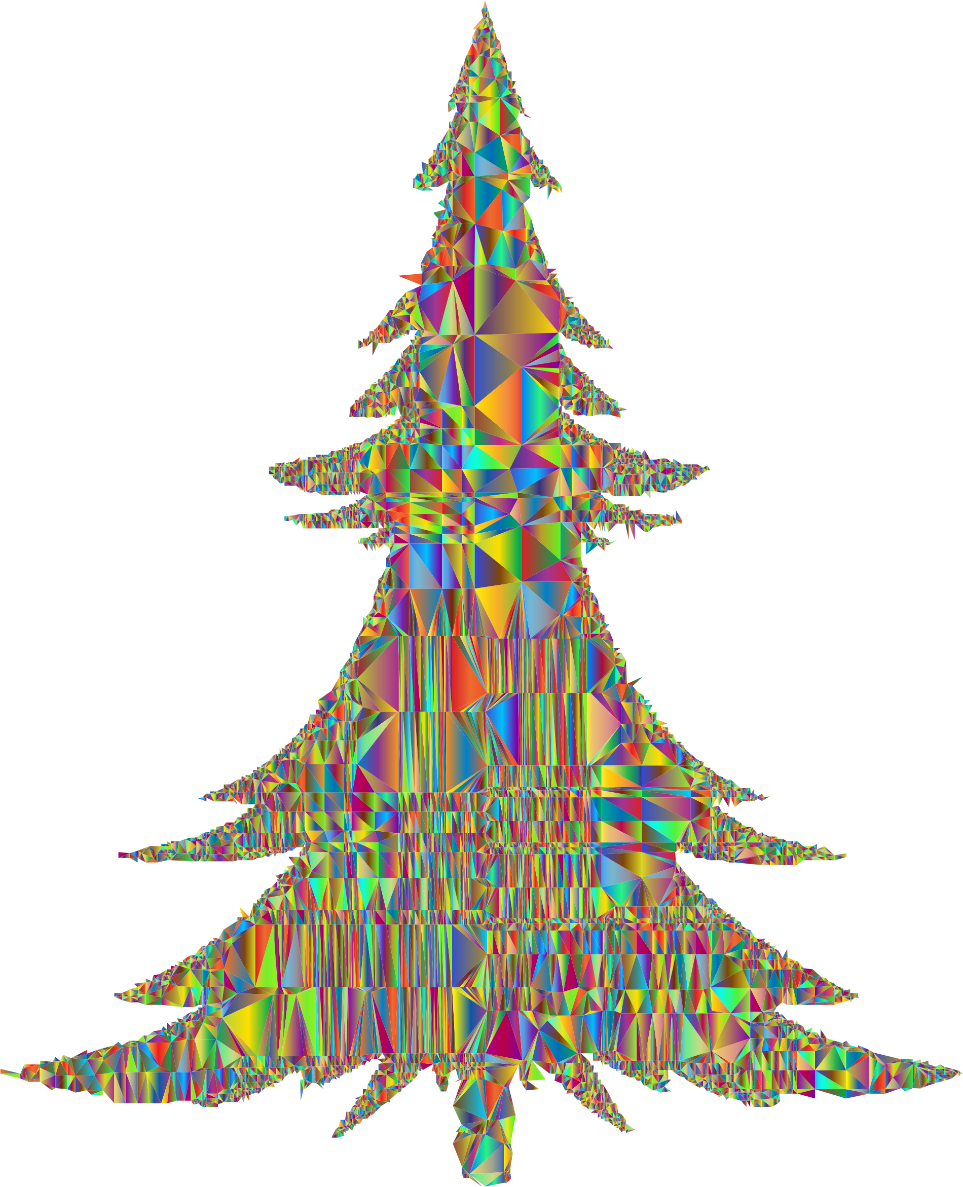 Abstract Christmas Tree Mesh Polyprismatic by GDJ