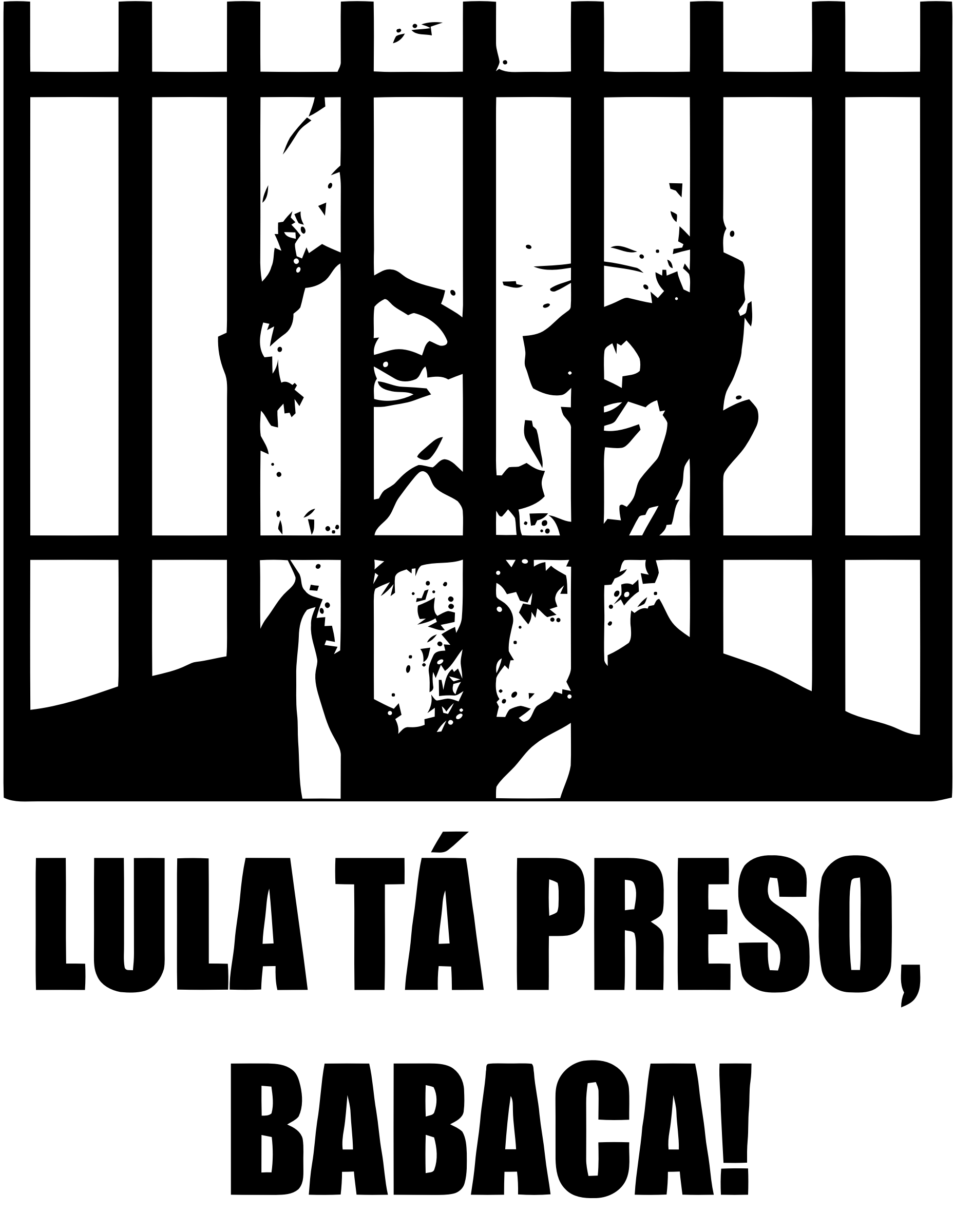 Lula's in jail, asshole! by MUVUCA