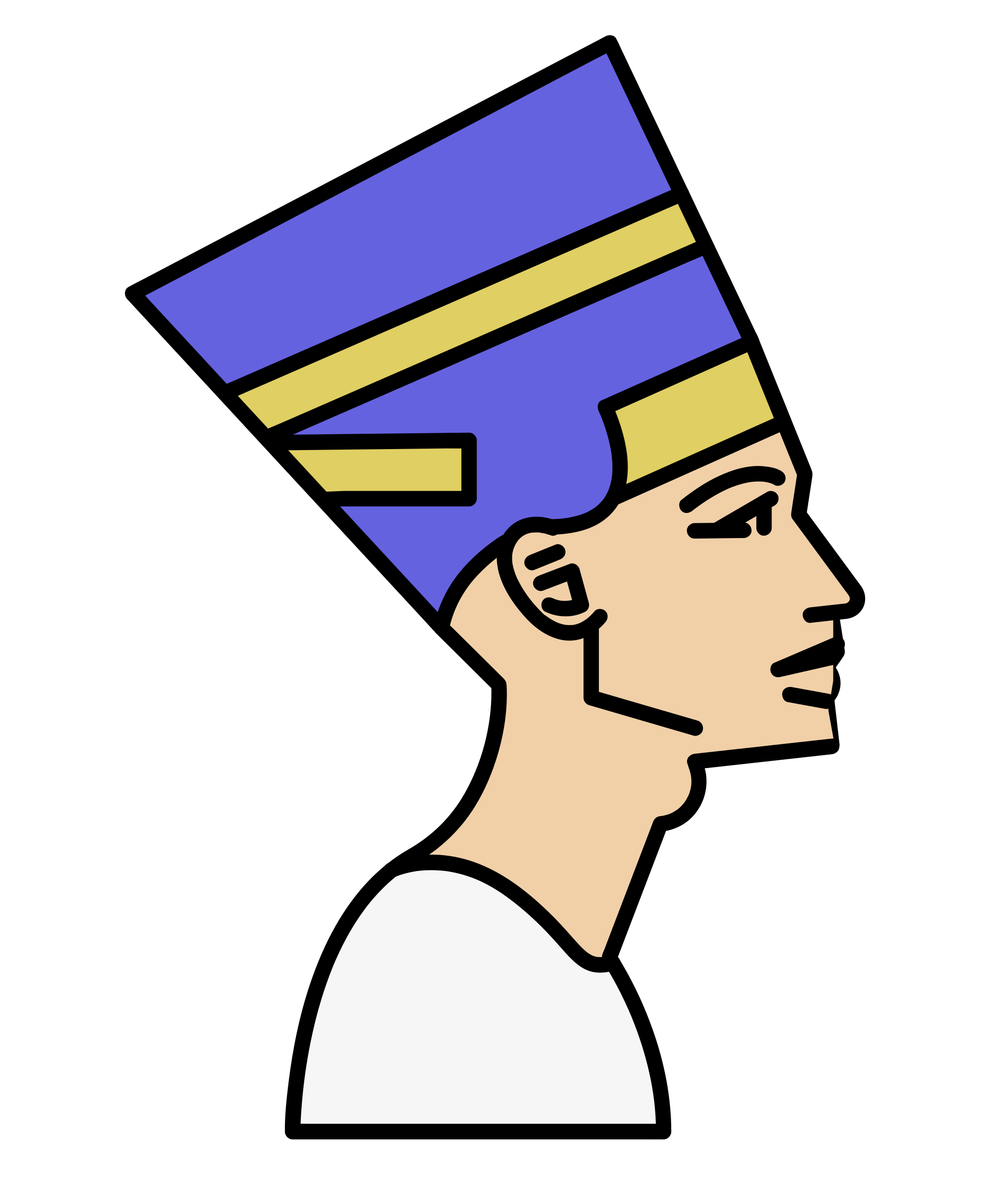 Nefertiti Head by j4p4n