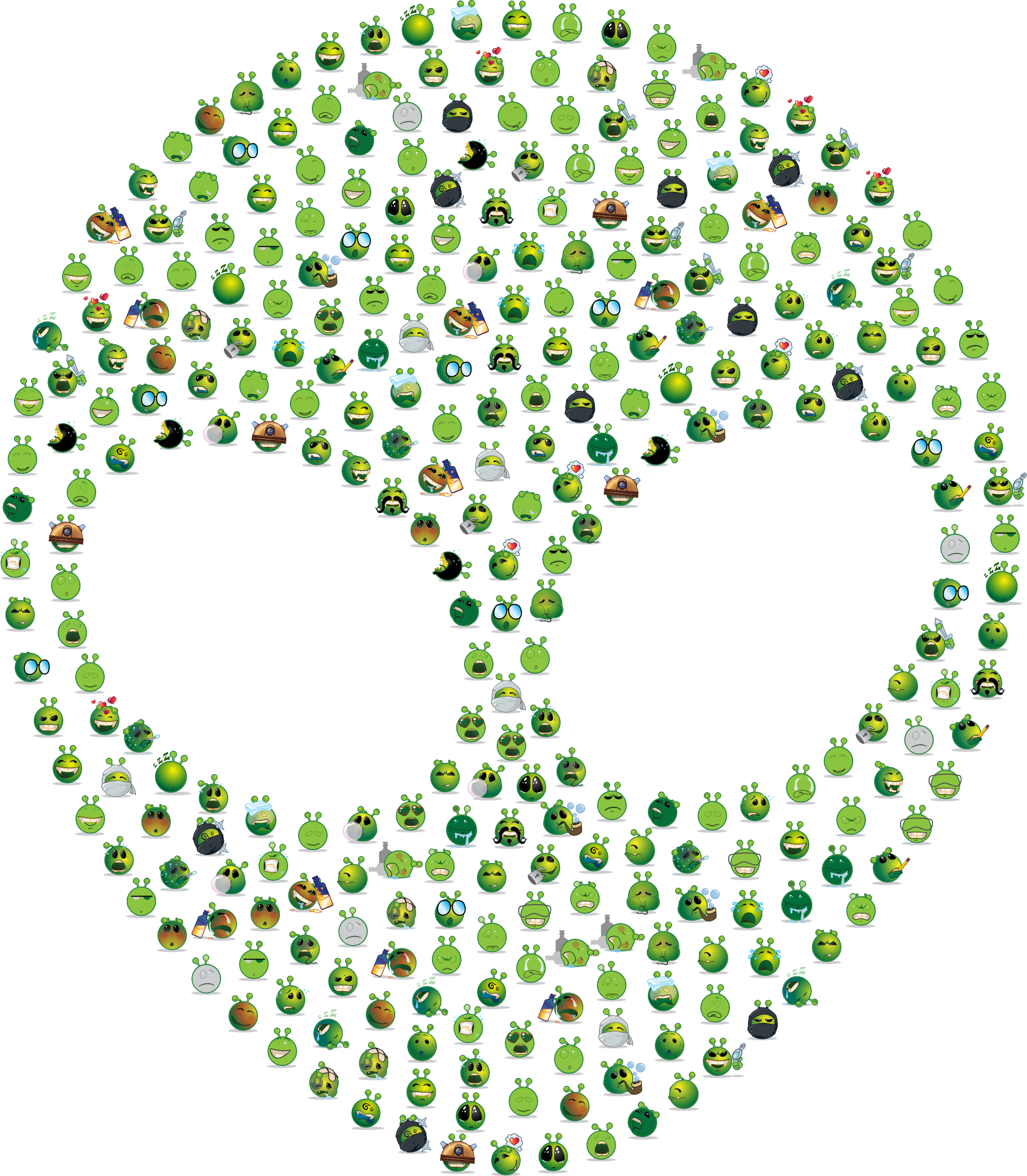 Alien Emojis by GDJ