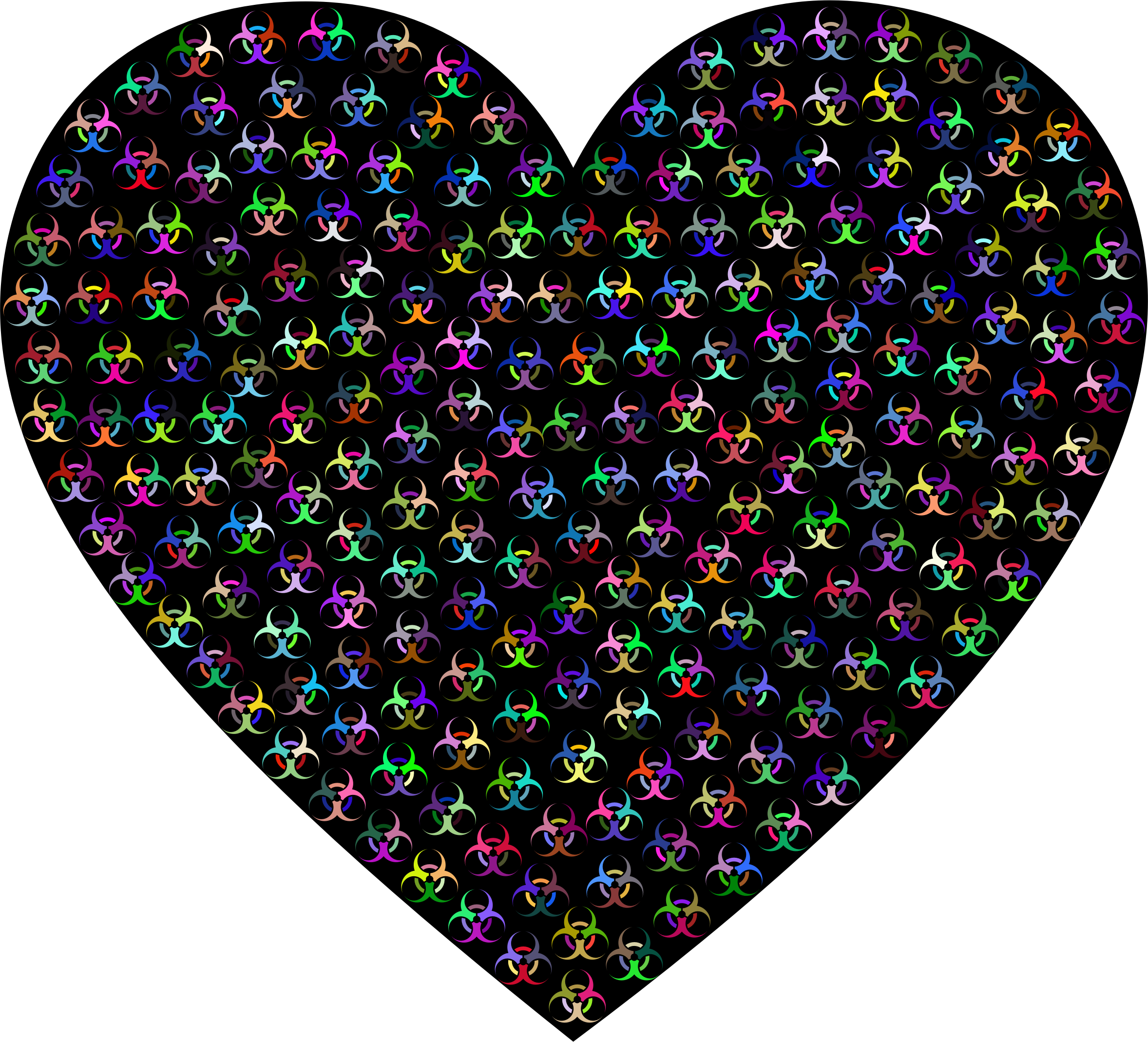 Toxic Heart Prismatic With BG by GDJ