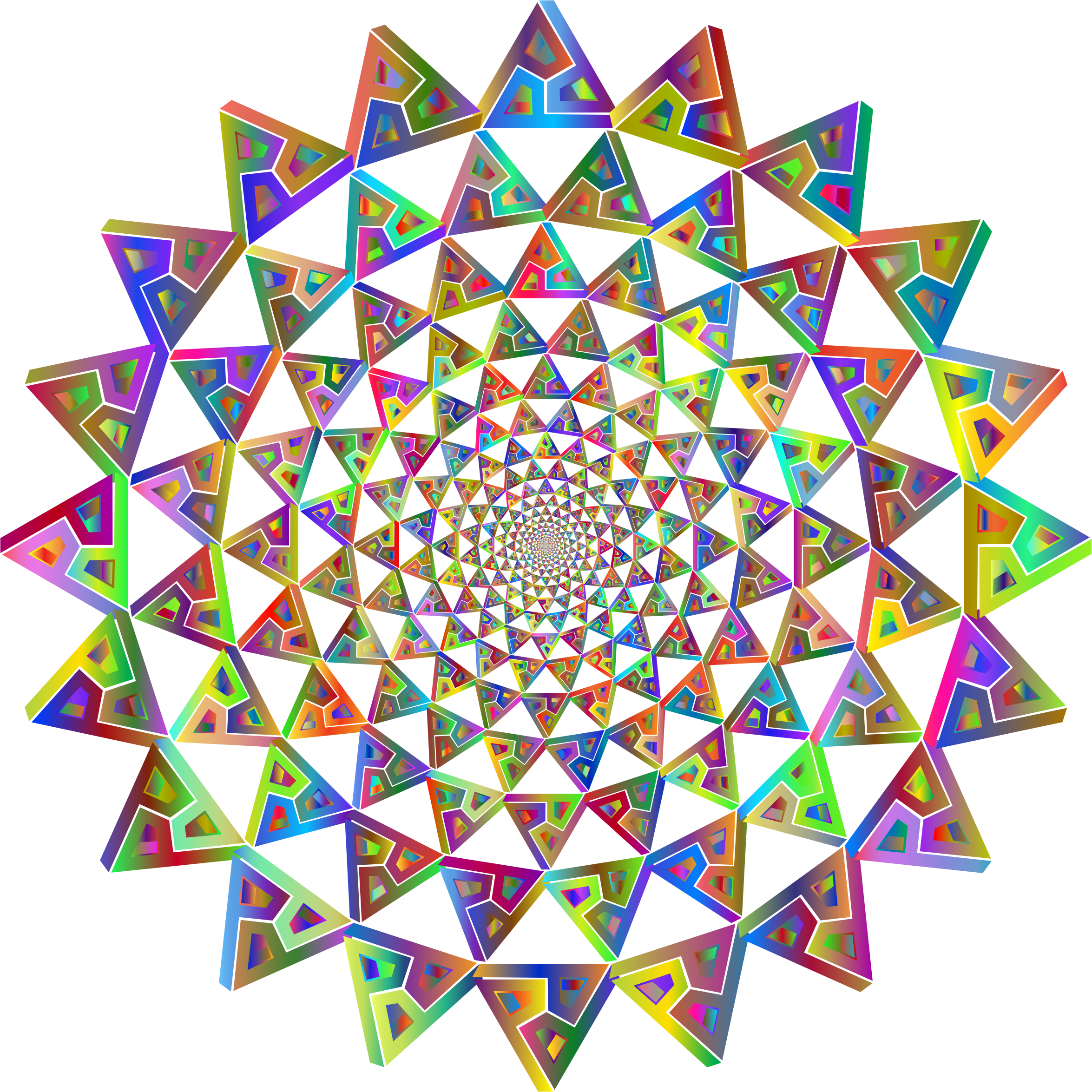 Dordy Triangle Vortex Polyprismatic No BG by GDJ