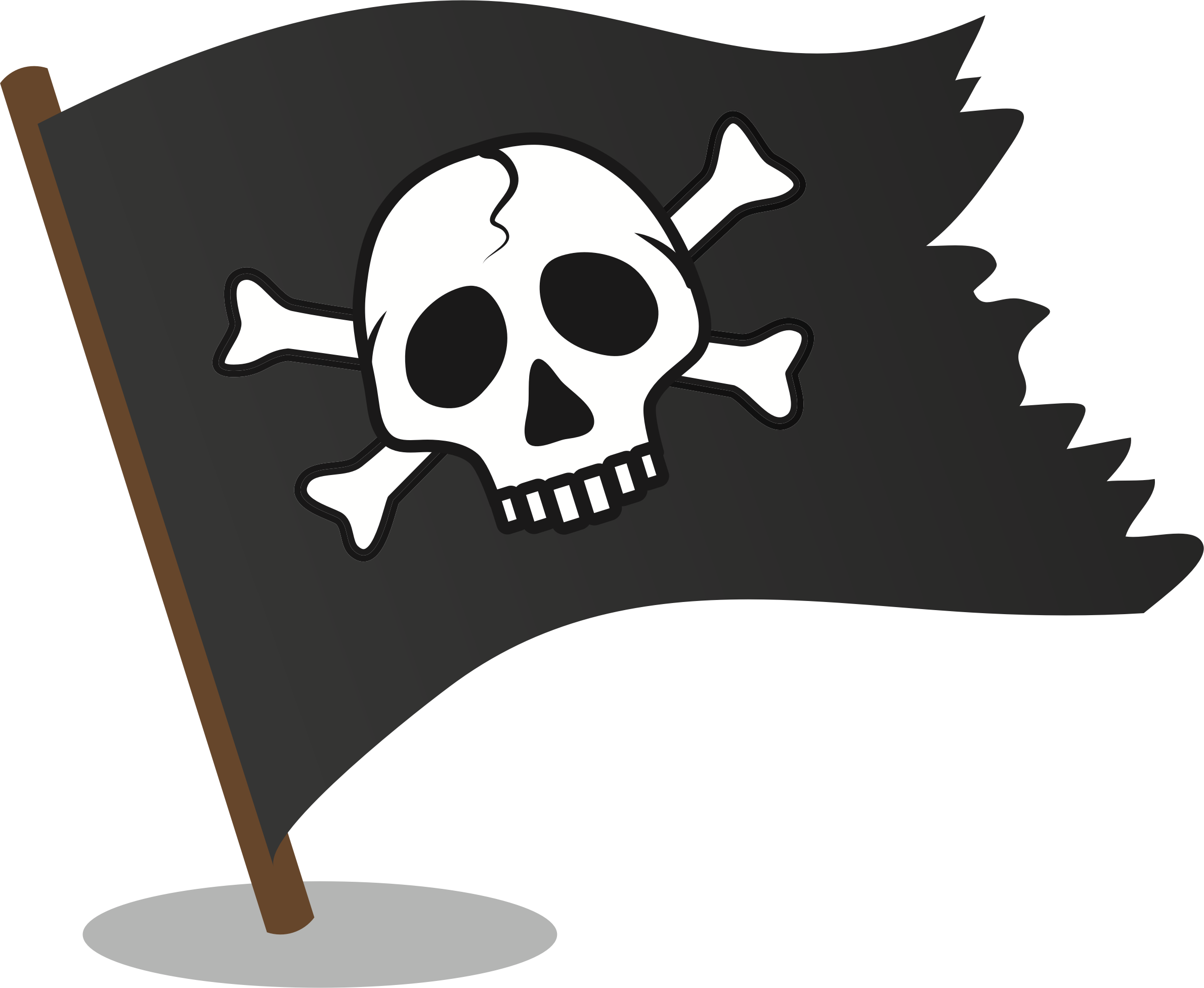 Pirate flag by oksmith