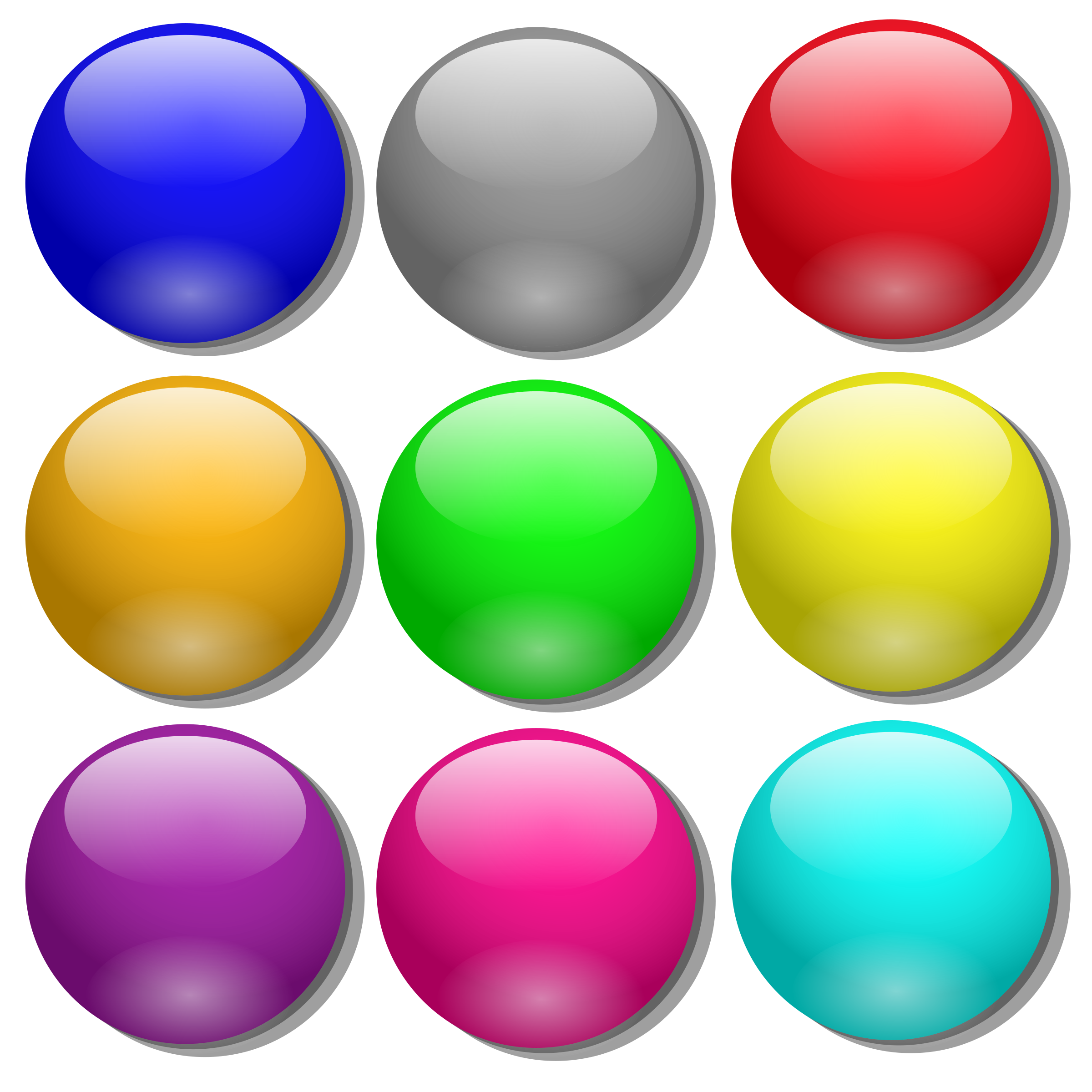 Game marbles - simple dots by nicubunu