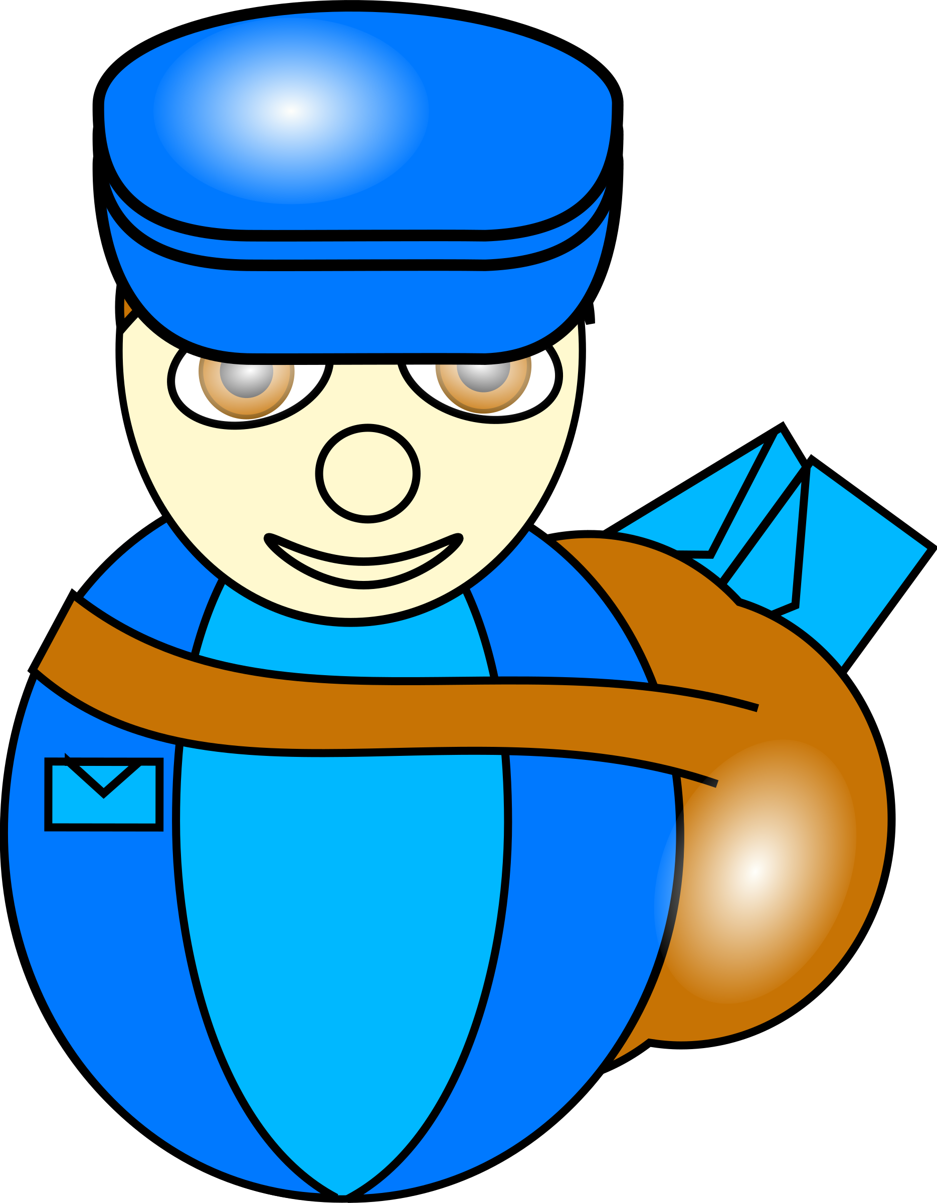 Postman by TomBrough
