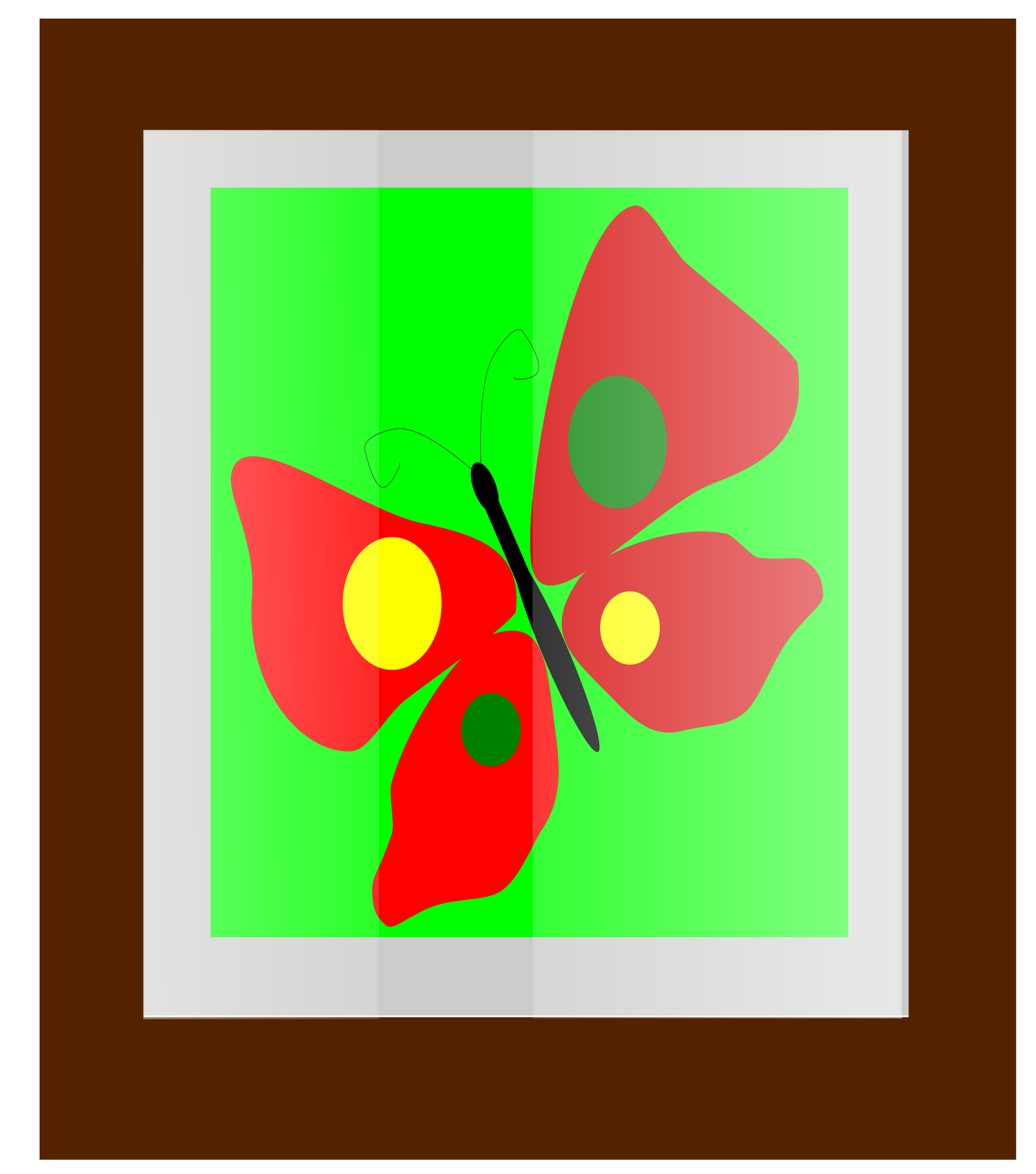 Butterfly Frame  by insan