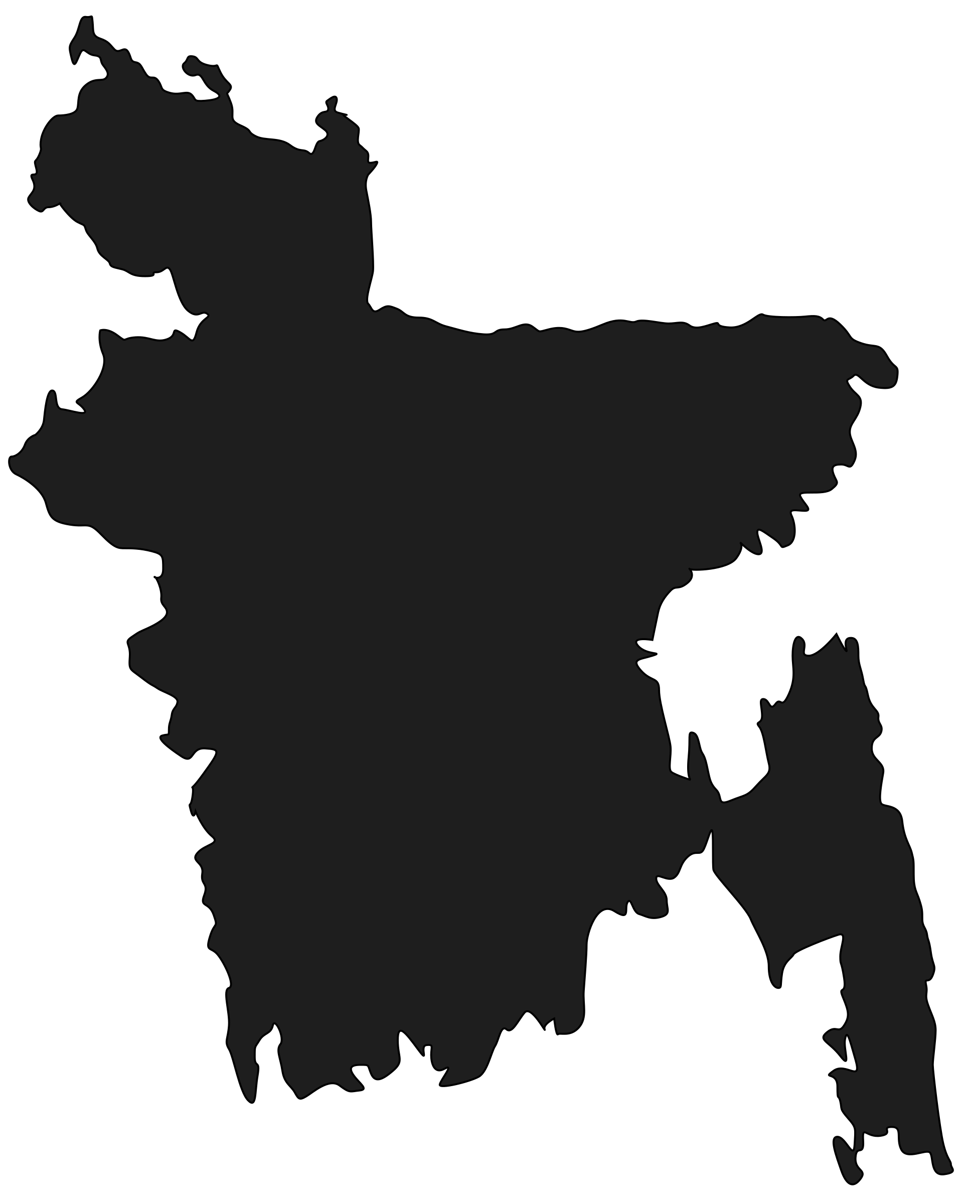 Map of Bangladesh by salahuddin66