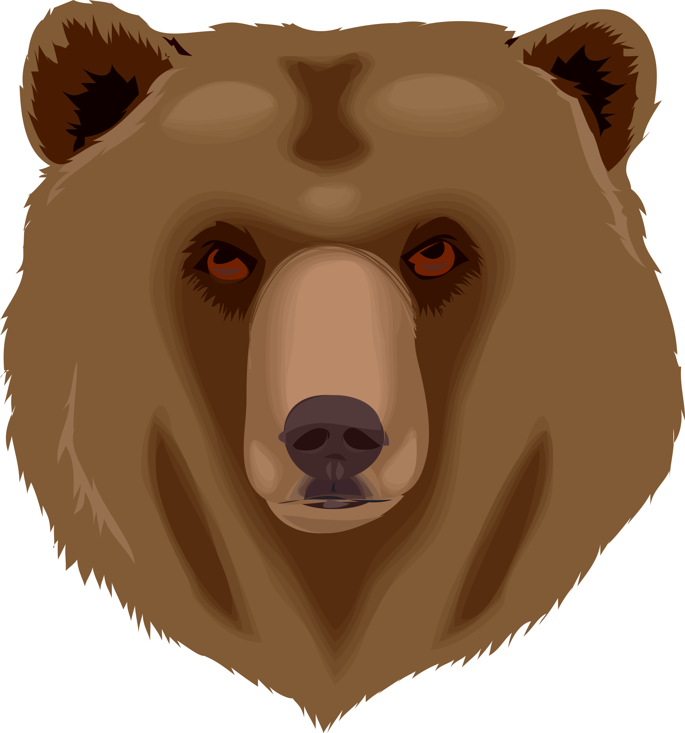 Architetto orso 16 Grizzly Bear by francesco_rollandin