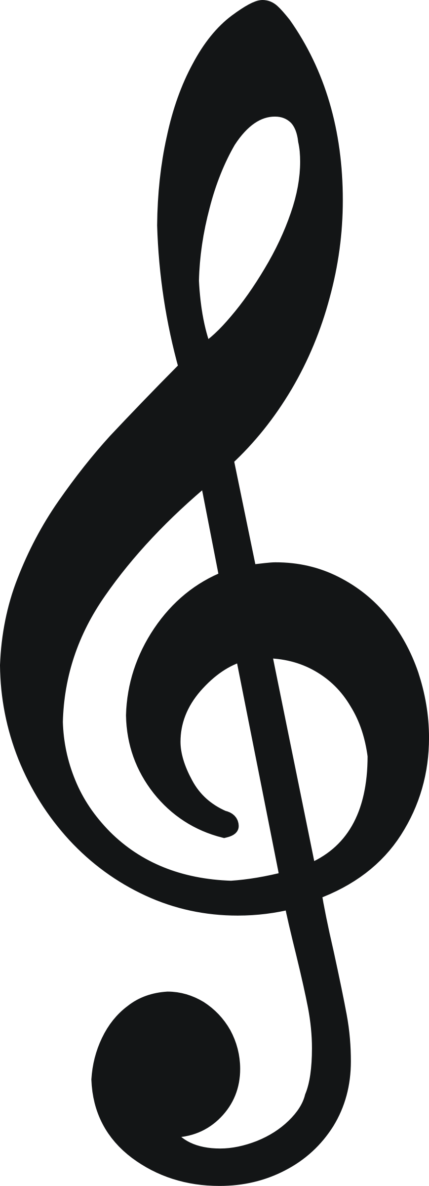 treble clefs by zeimusu