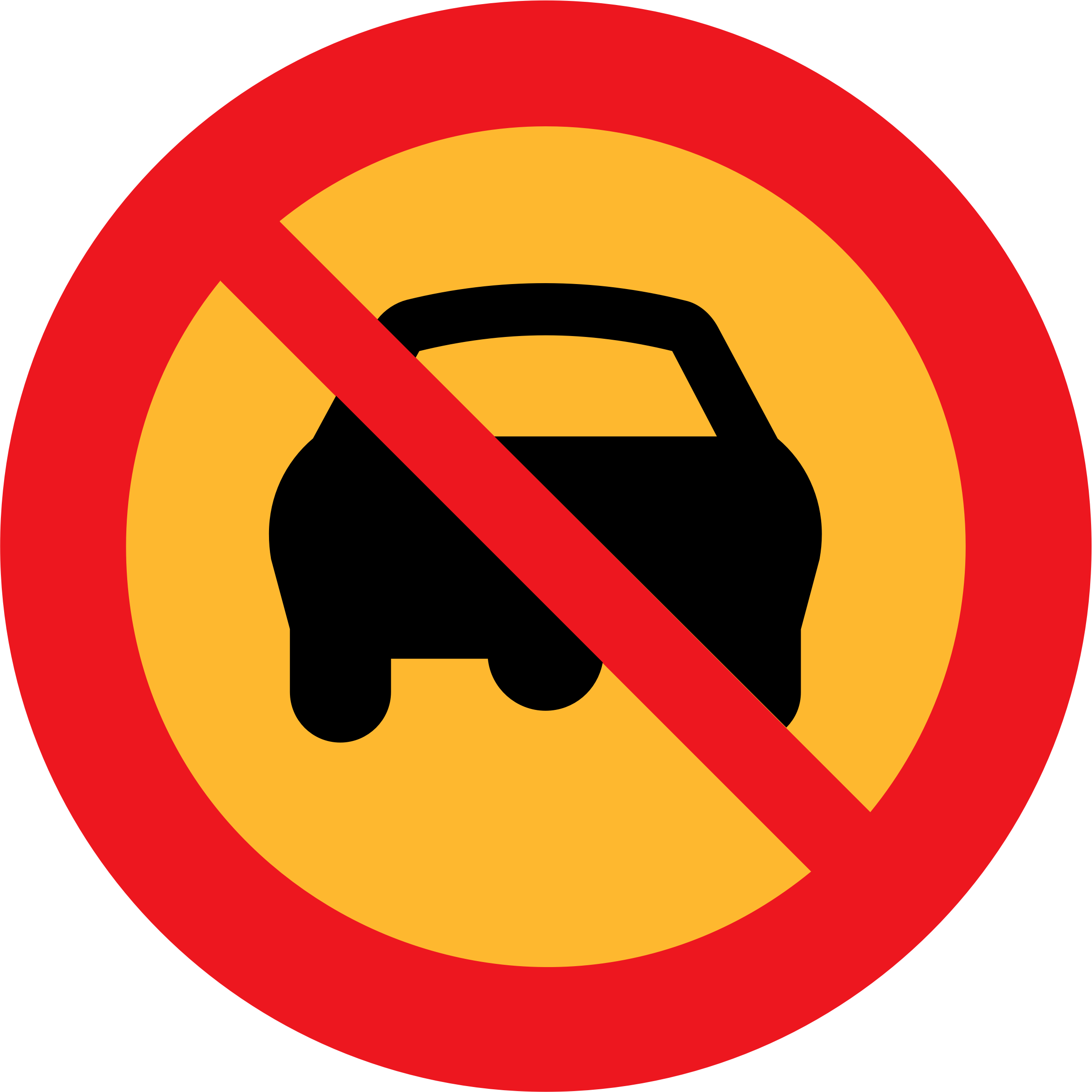 no cars sign by ryanlerch
