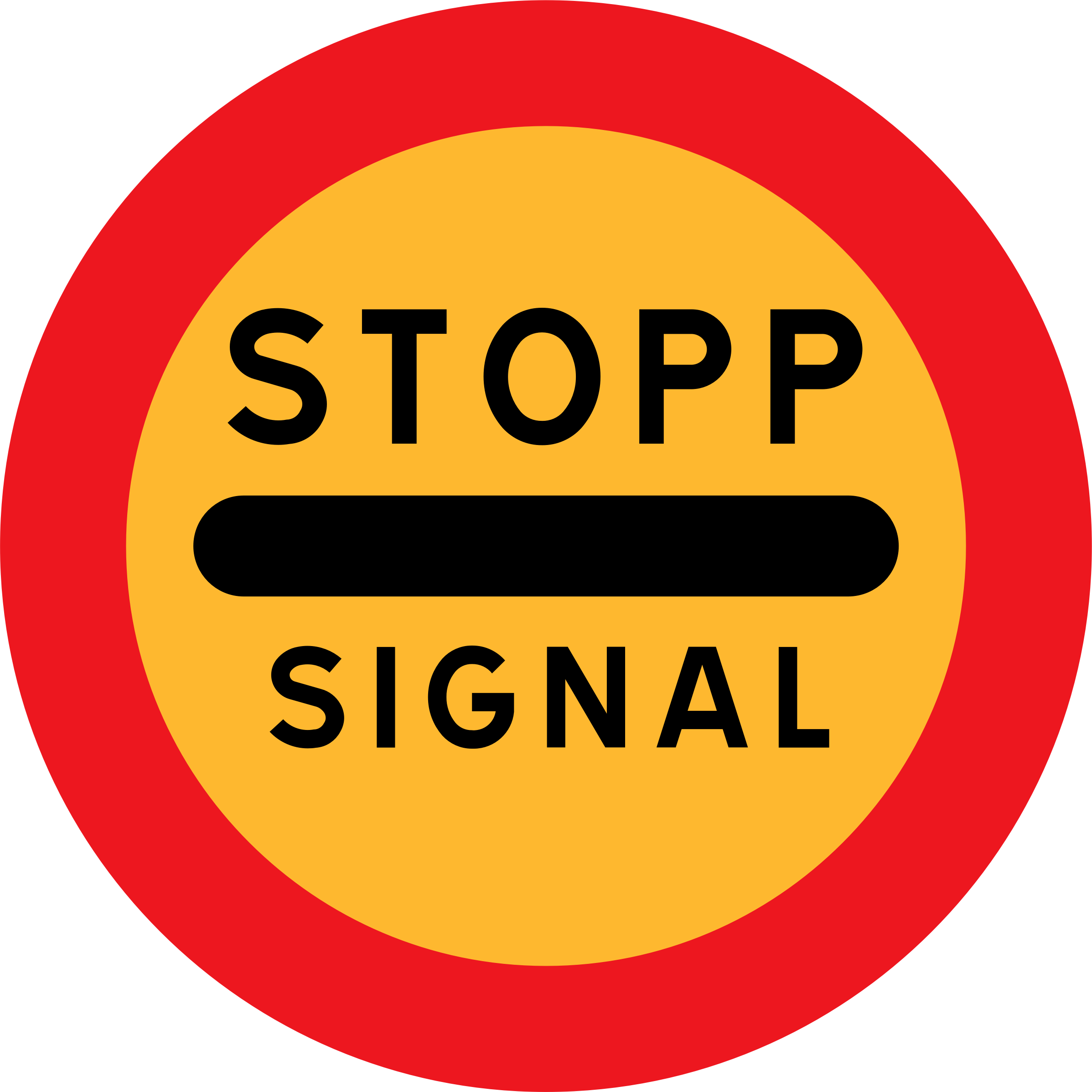 stopp signal sign by ryanlerch