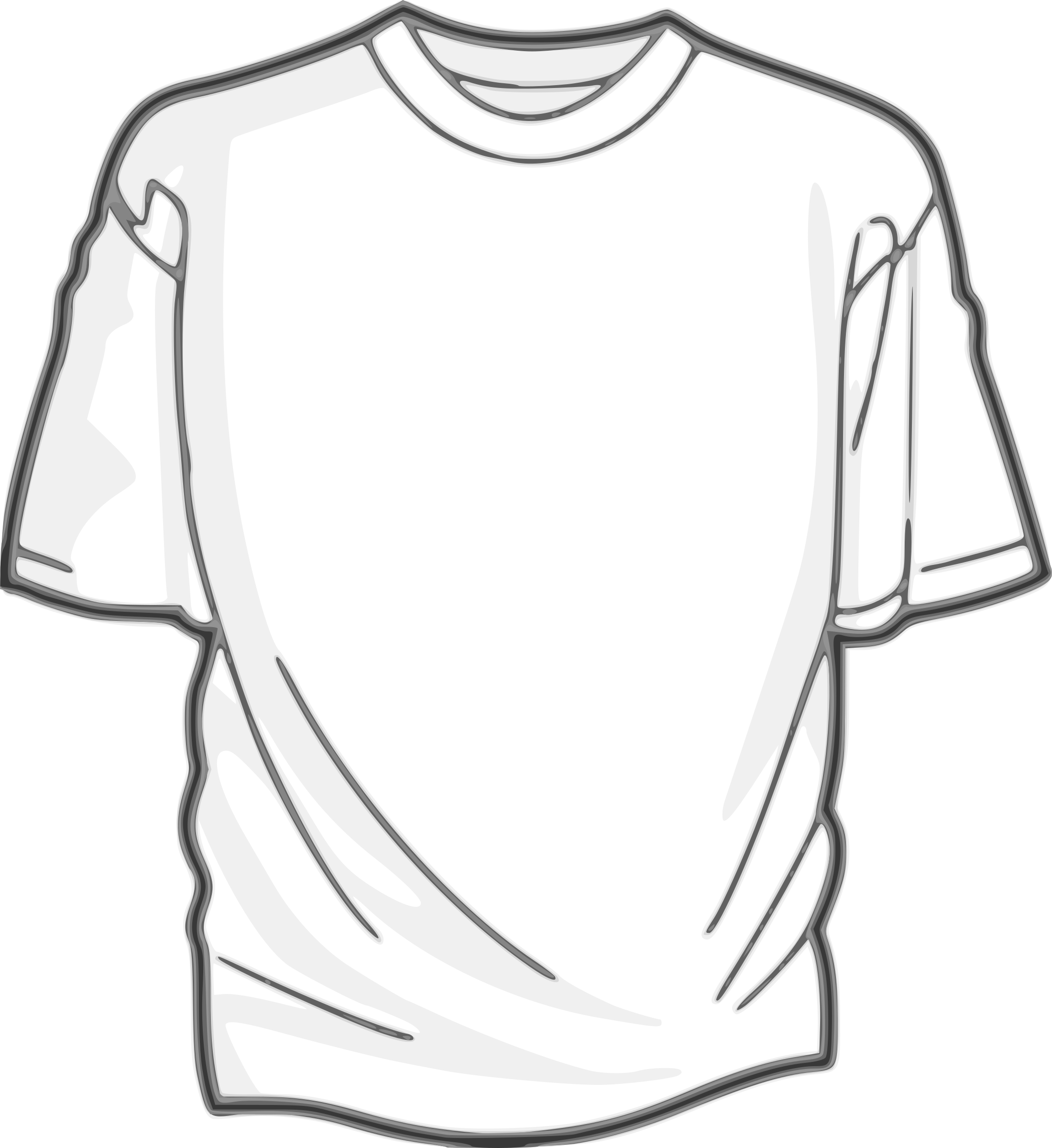 Blank T-Shirt by DigitaLink