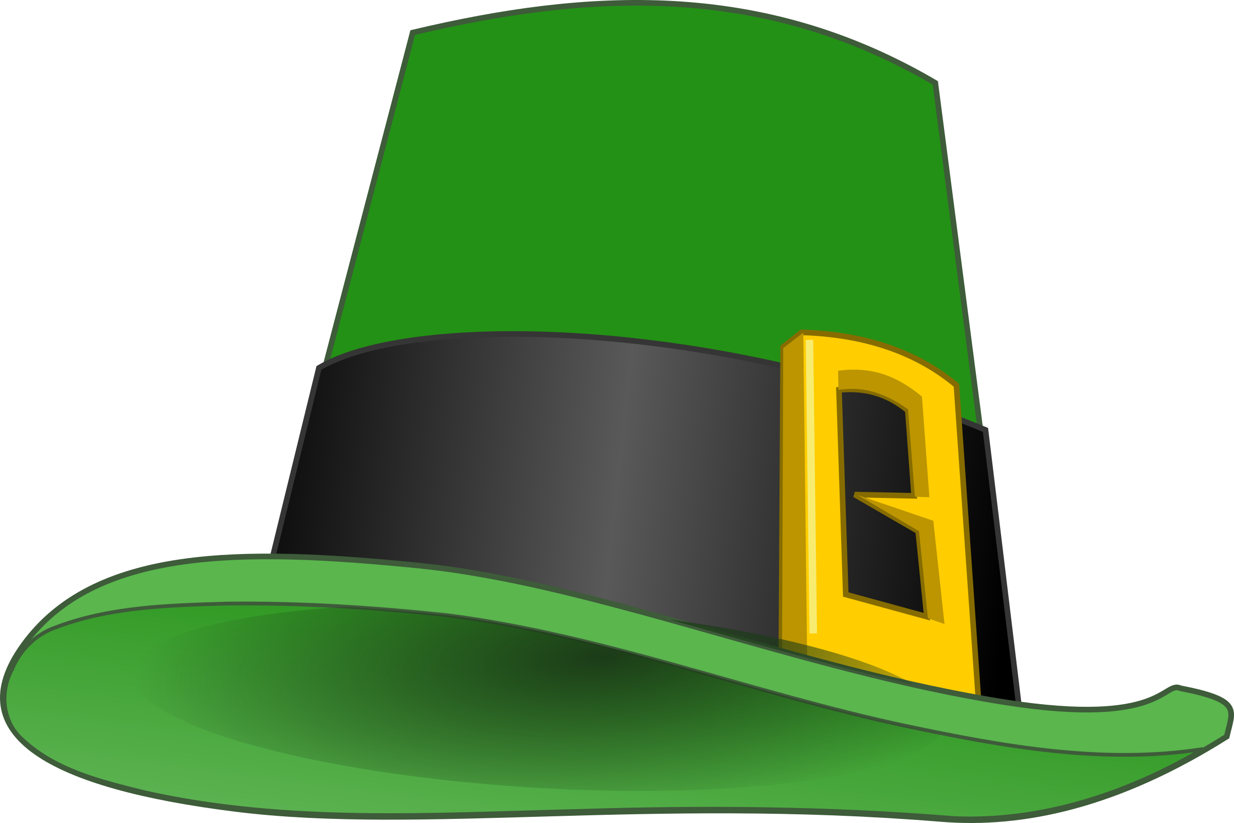 Leprechaun's hat 2 by mairin