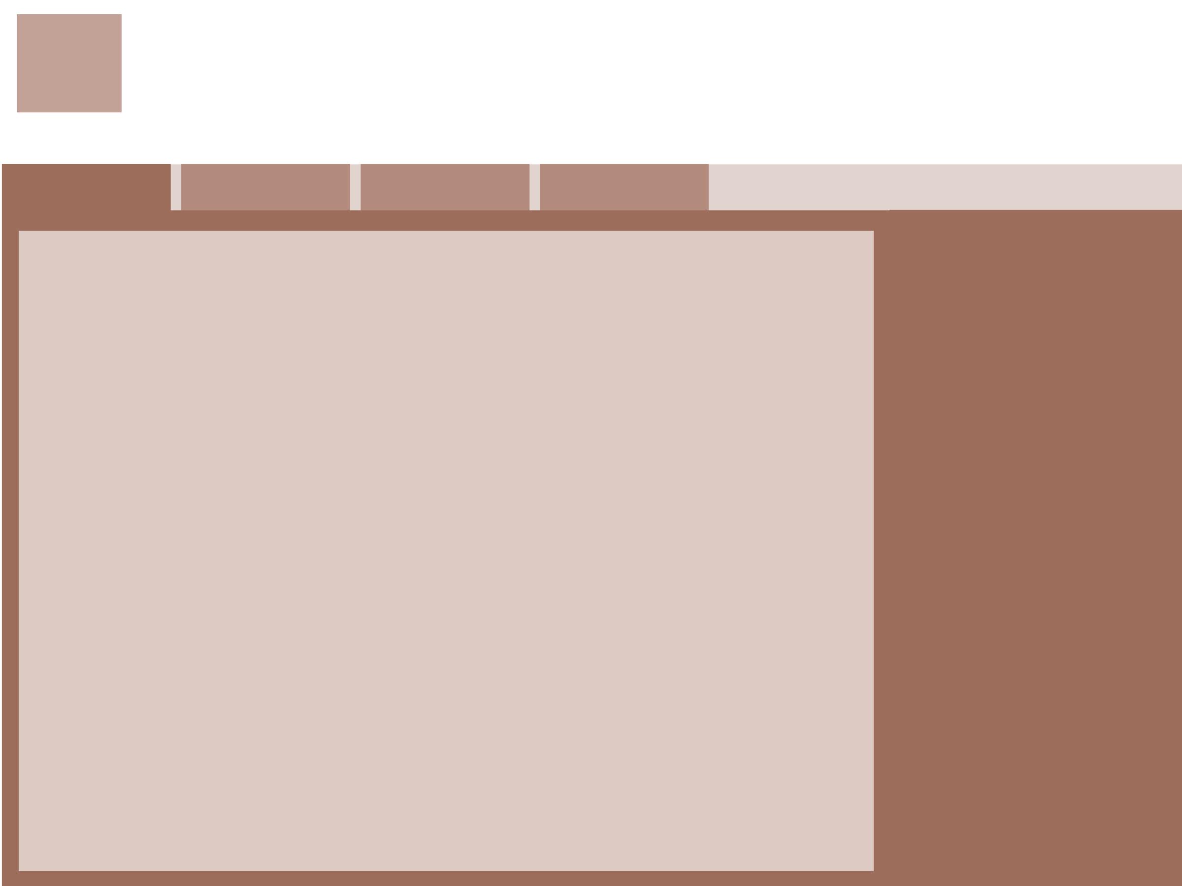 Clipart - Basic Website layout