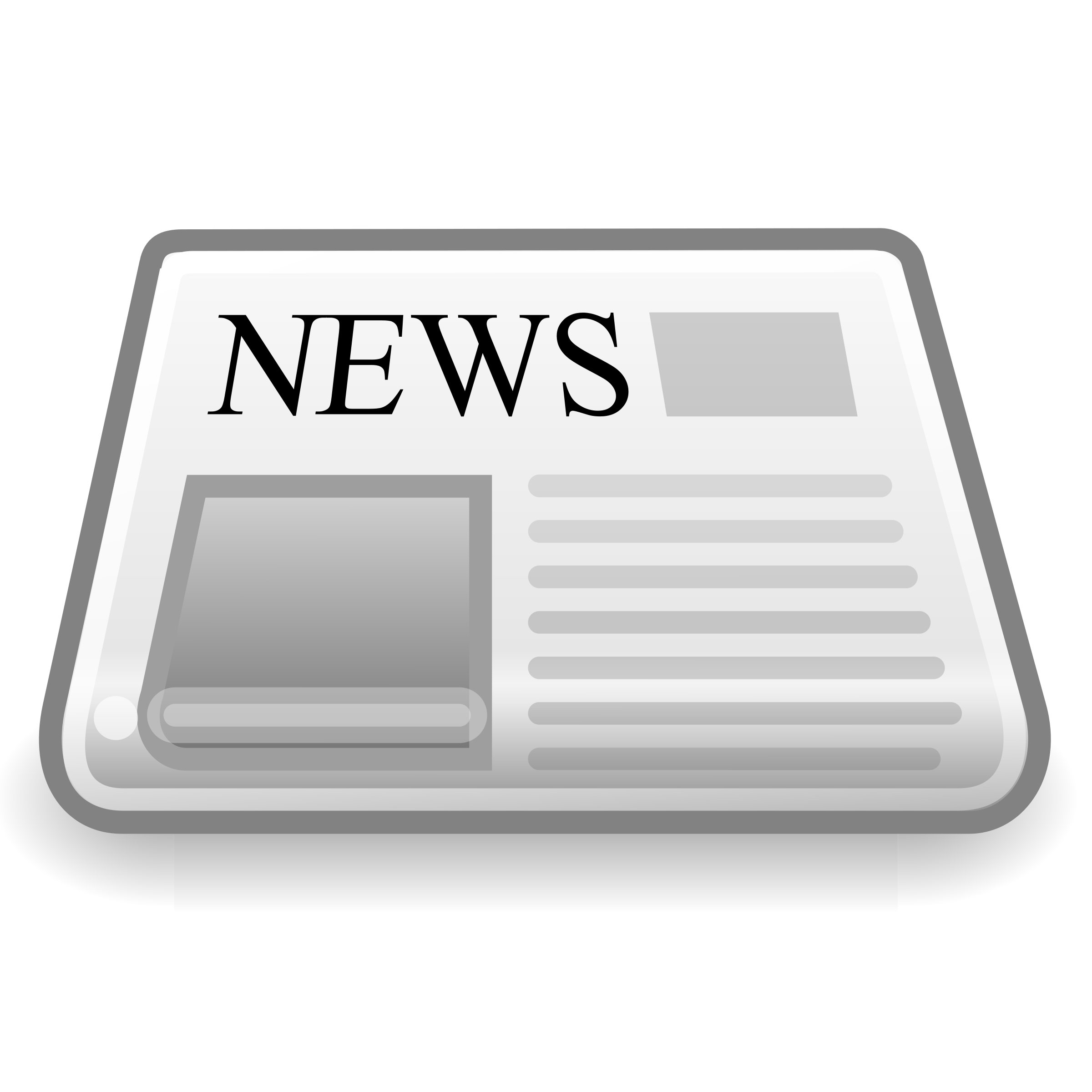 Clipart - News Paper Icon