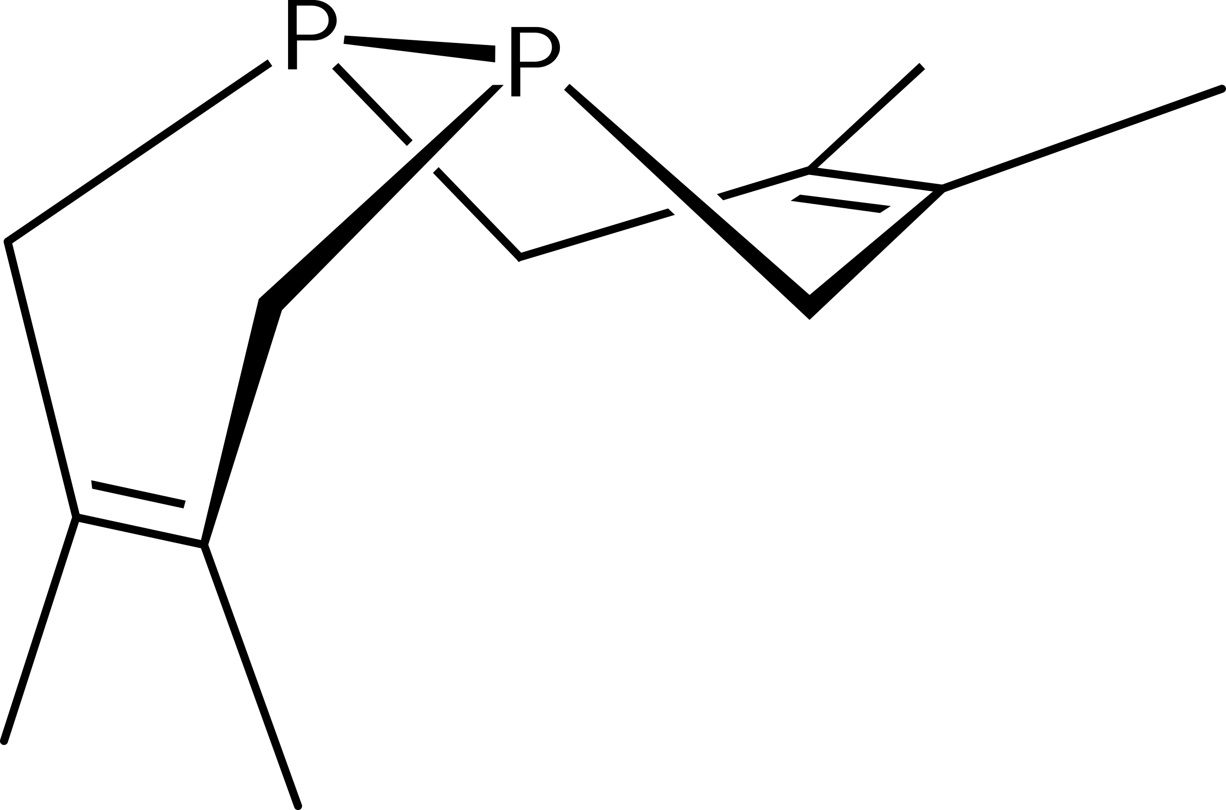 Diphosphorus Double Diels-Alder Adduct with 2,3-dimethylbutadiene by ccummins