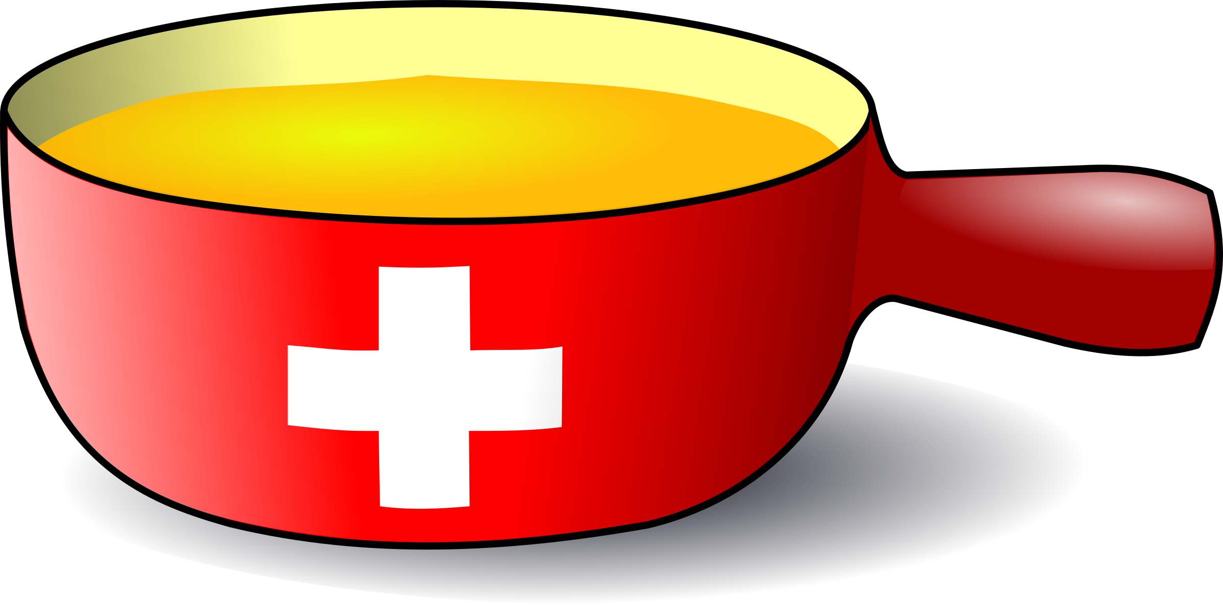 swiss caquelon fondue by Martouf