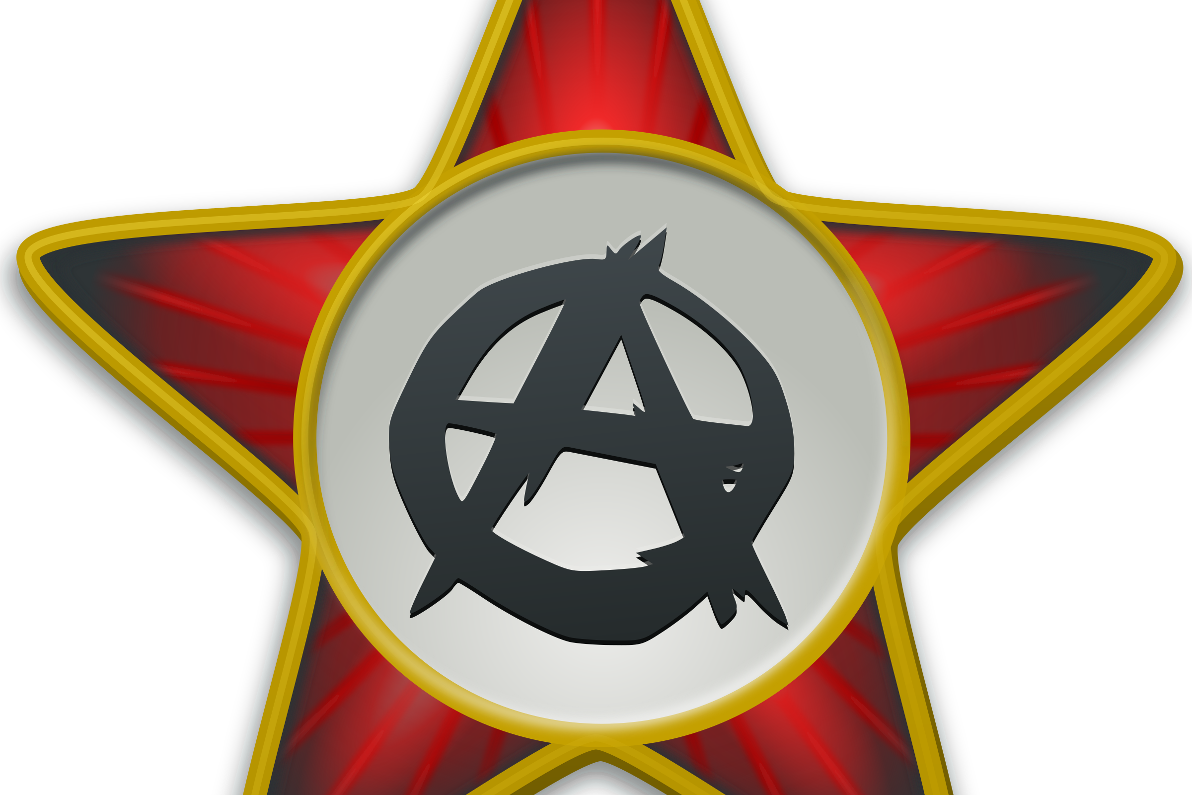 Anarchist star by vicing