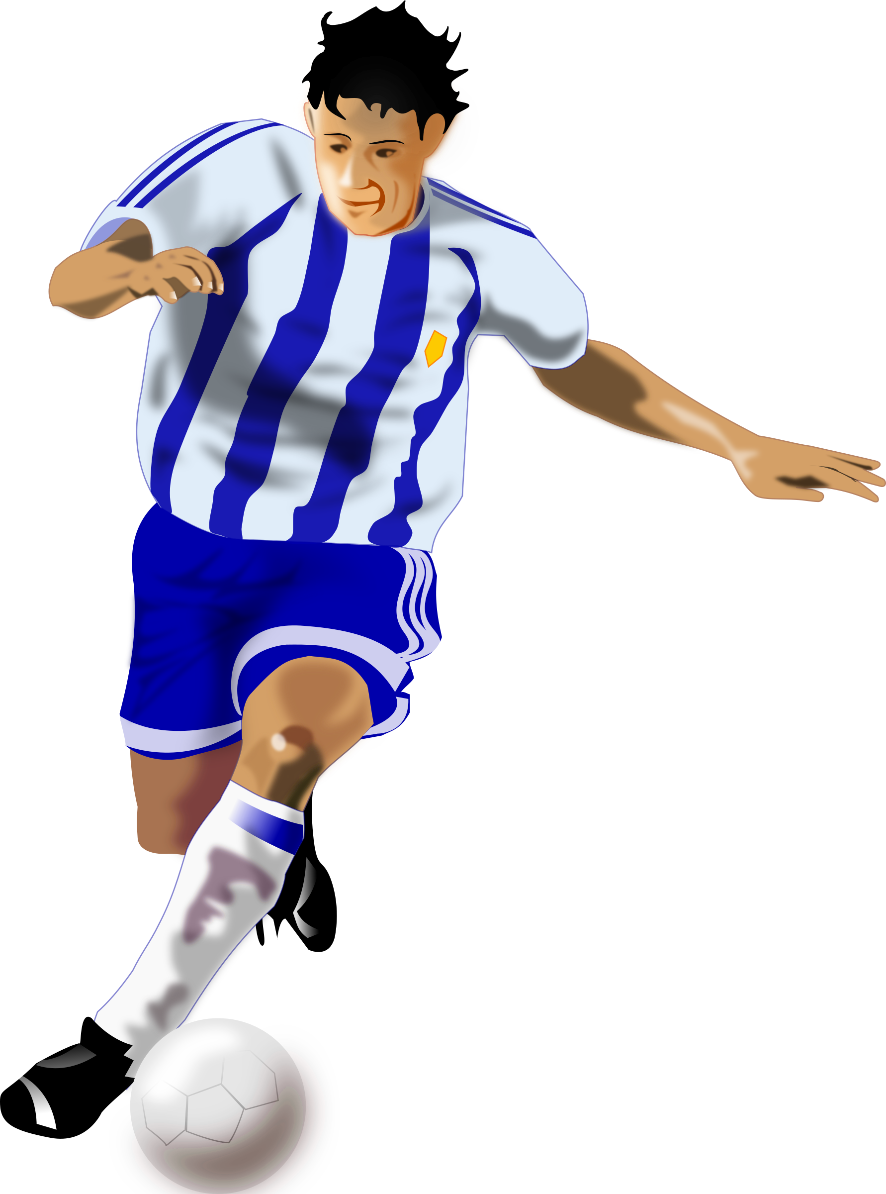 futbolista (soccer player) by sam_uy
