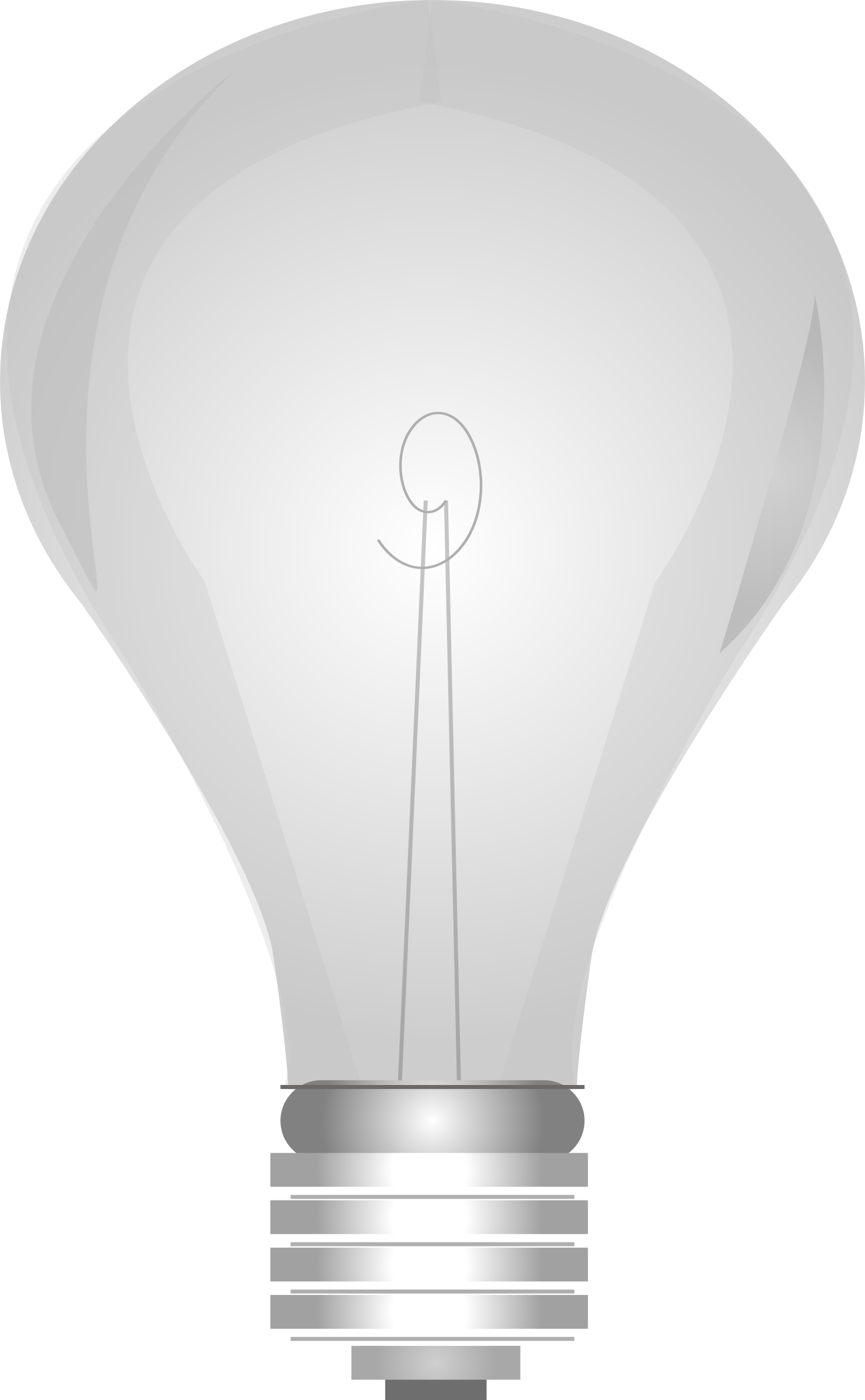 Lightbulb Grayscale by iedesign