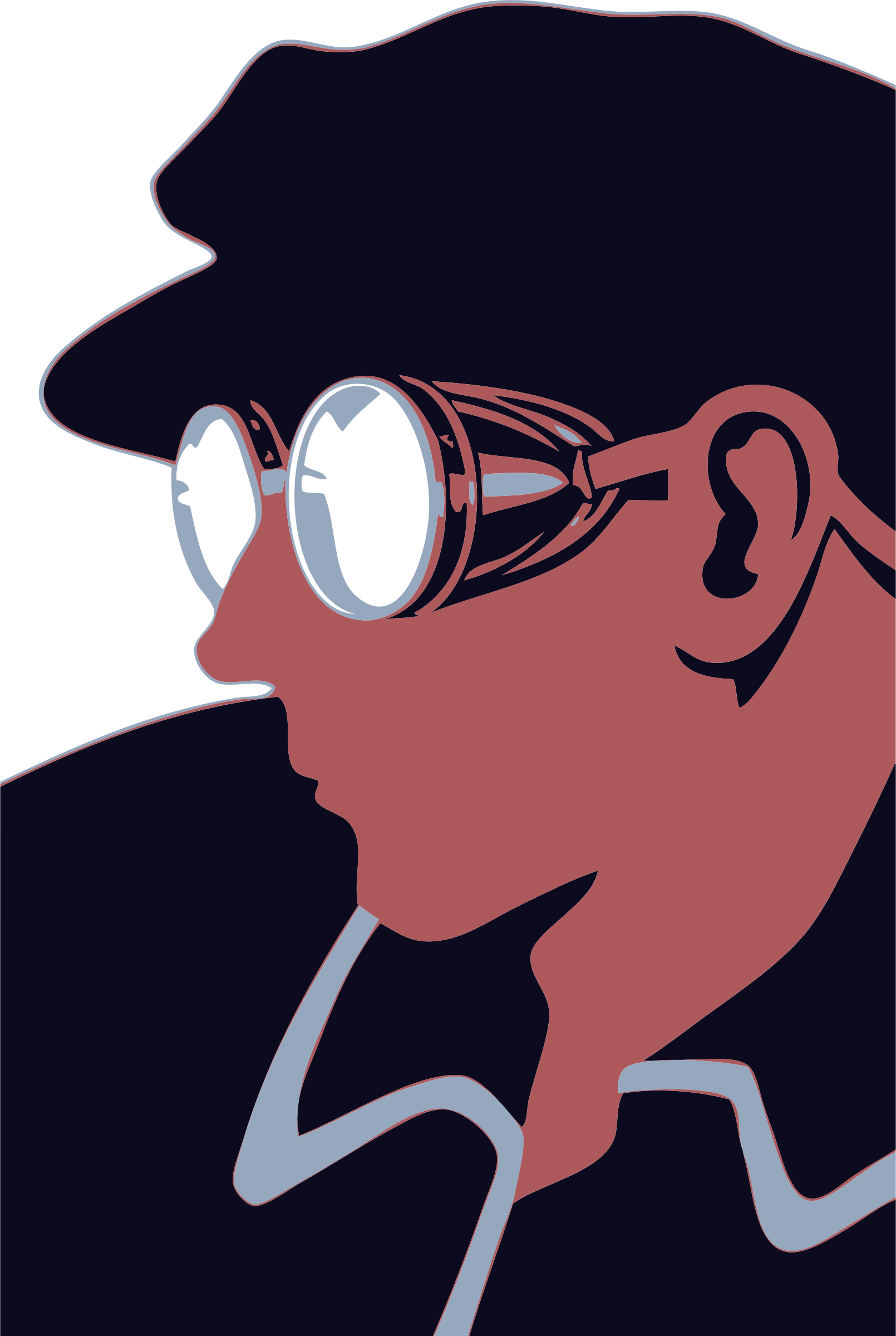 Goggles Guy by FunDraw_dot_com