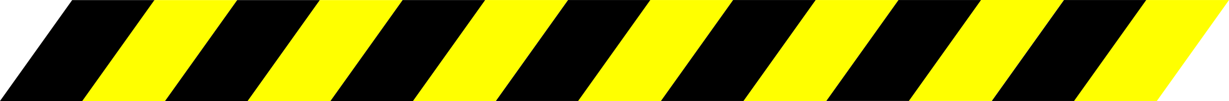Warning Stripe Black/Yellow by Sabathius