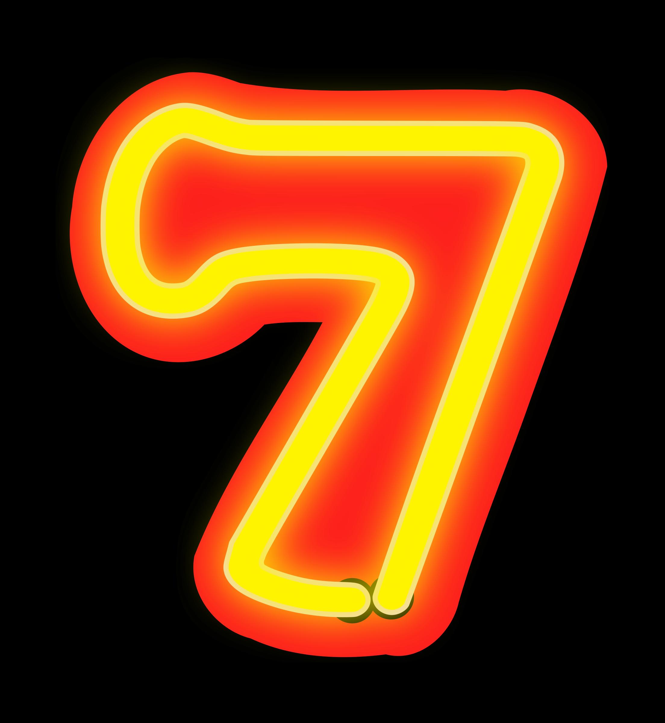clipart neon numerals 7 microsoft office 2010 clip art gallery microsoft office 2010 clip art