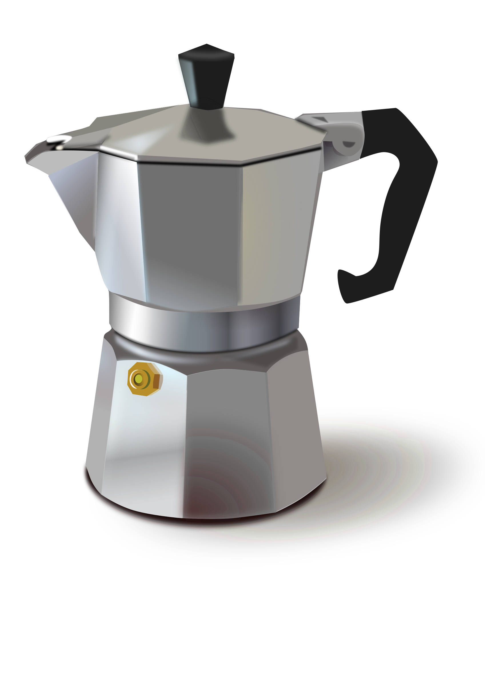 Clipart italian coffee maker How to make coffee with a coffee maker