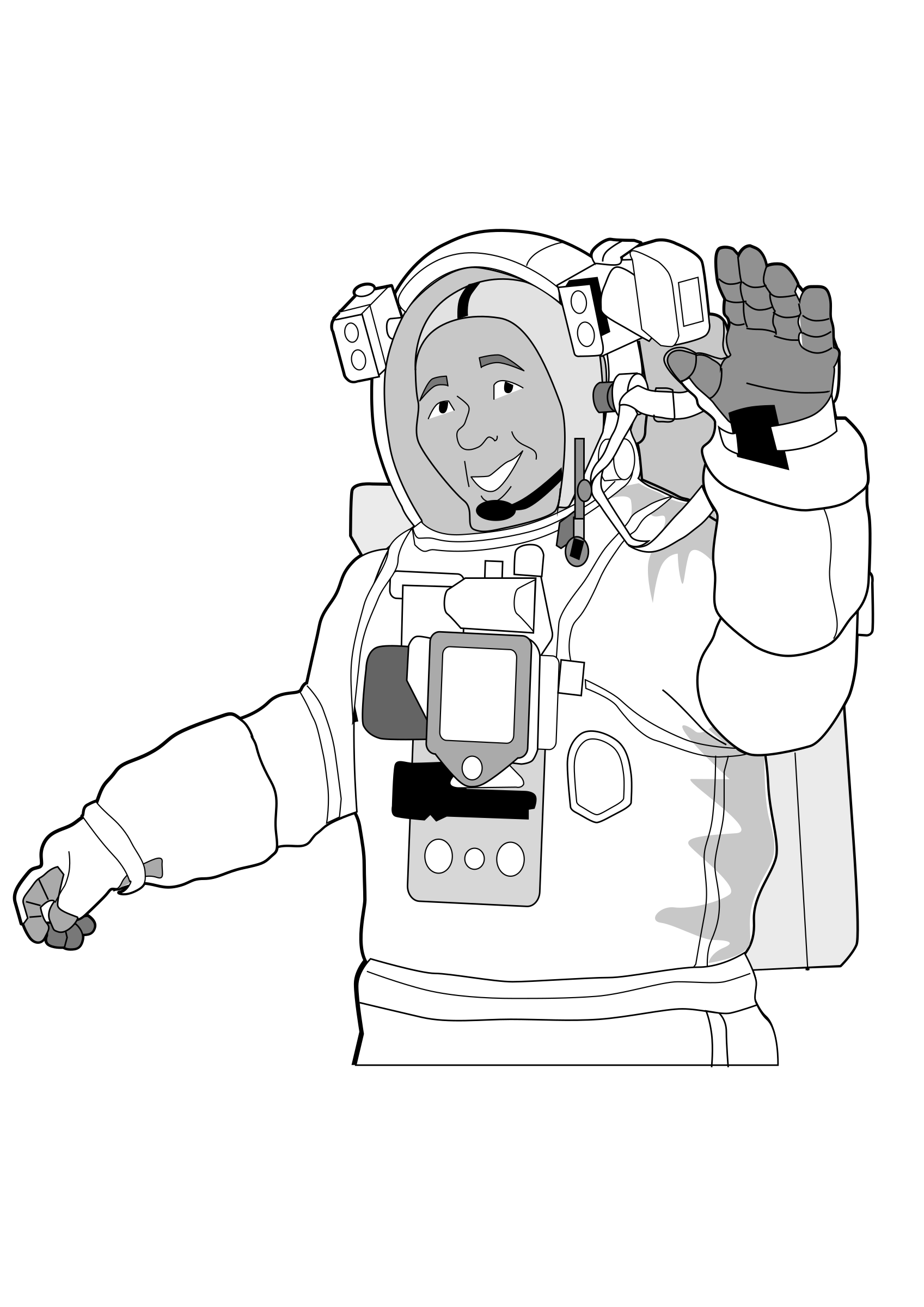 Astronaut iss activity sheet p1 by pianoBrad