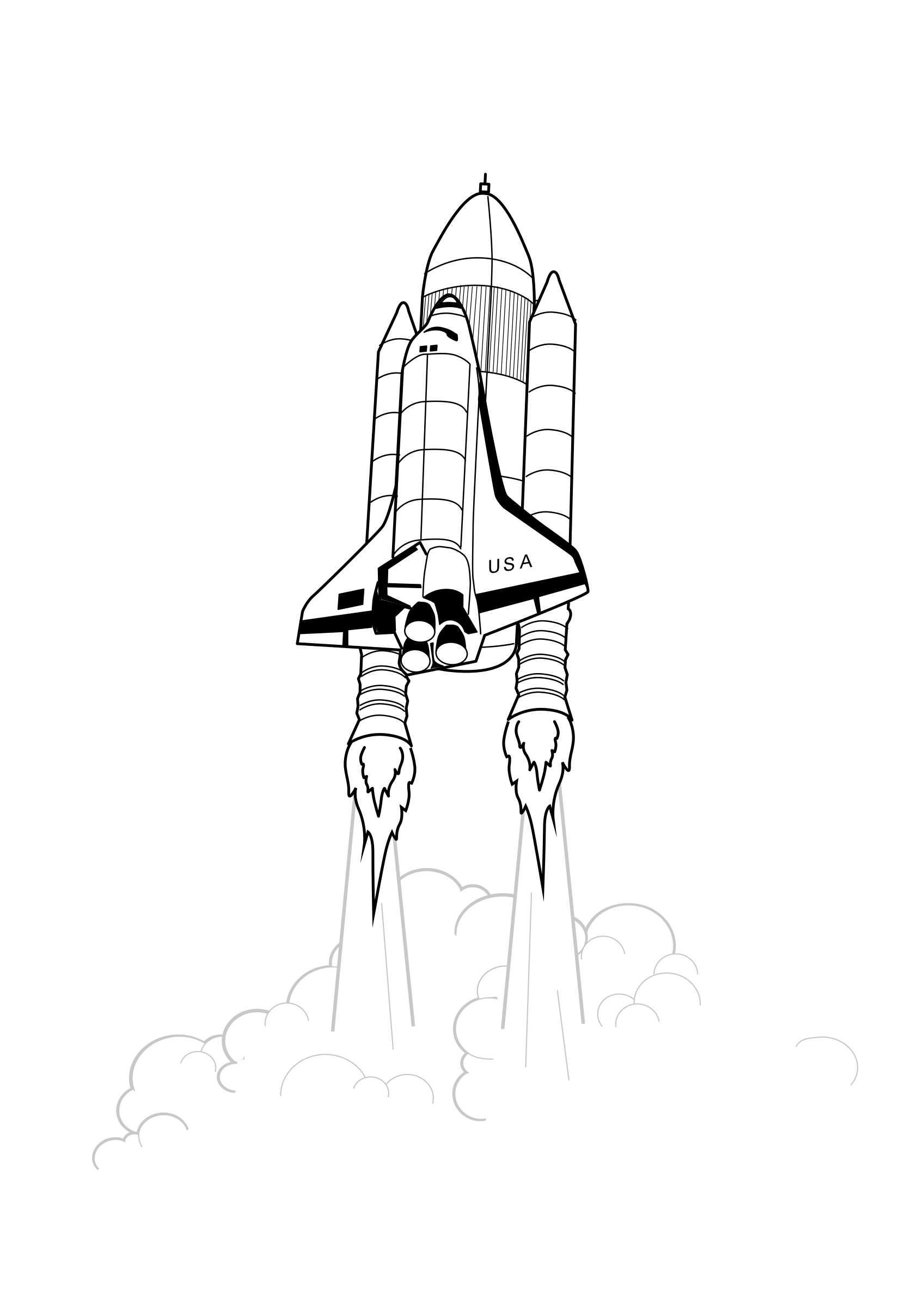 Shuttle Launch iss activity sheet p2 by pianoBrad