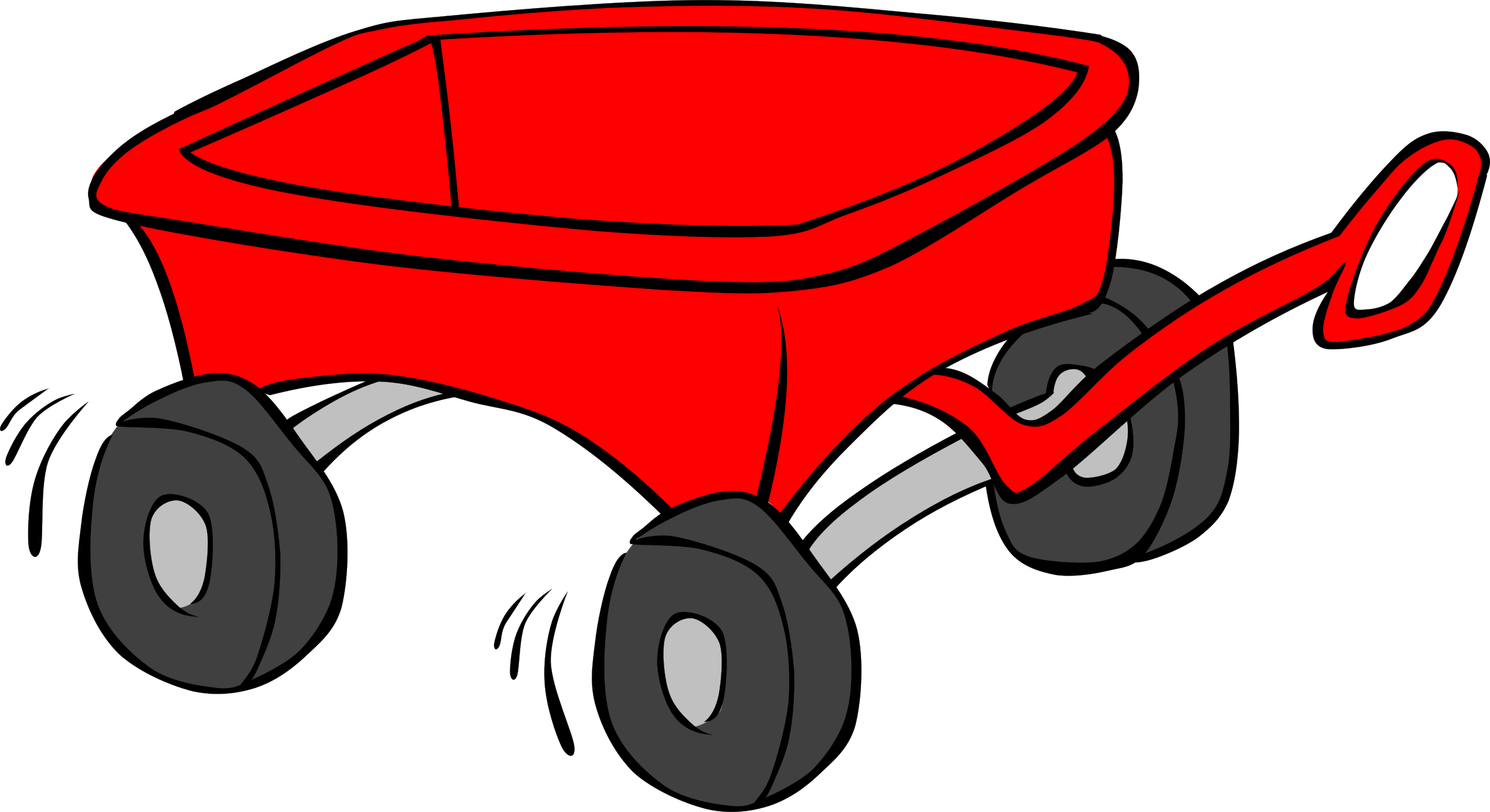 Clipart - Kids Wagon