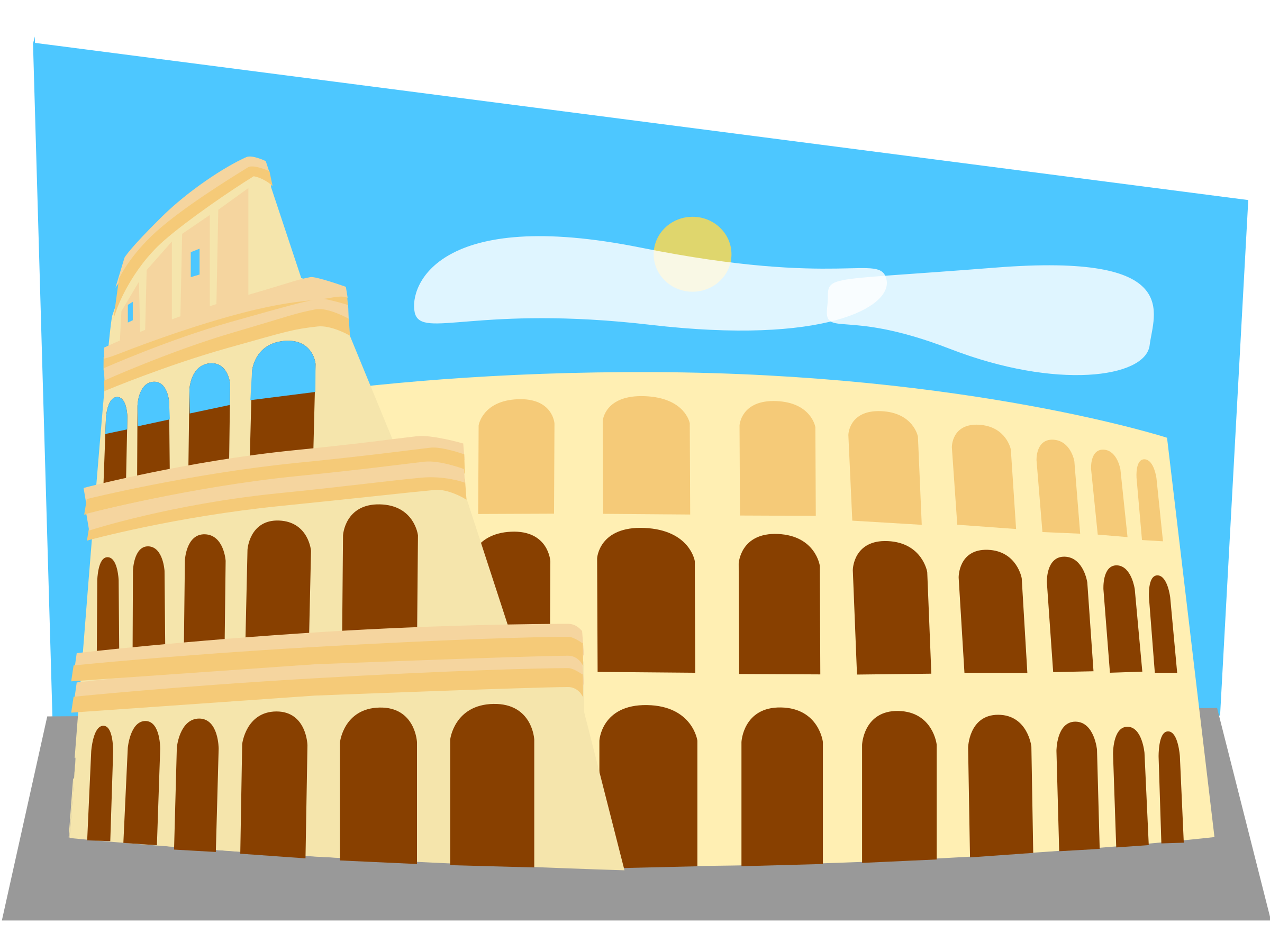 Roman Colosseum by melindak