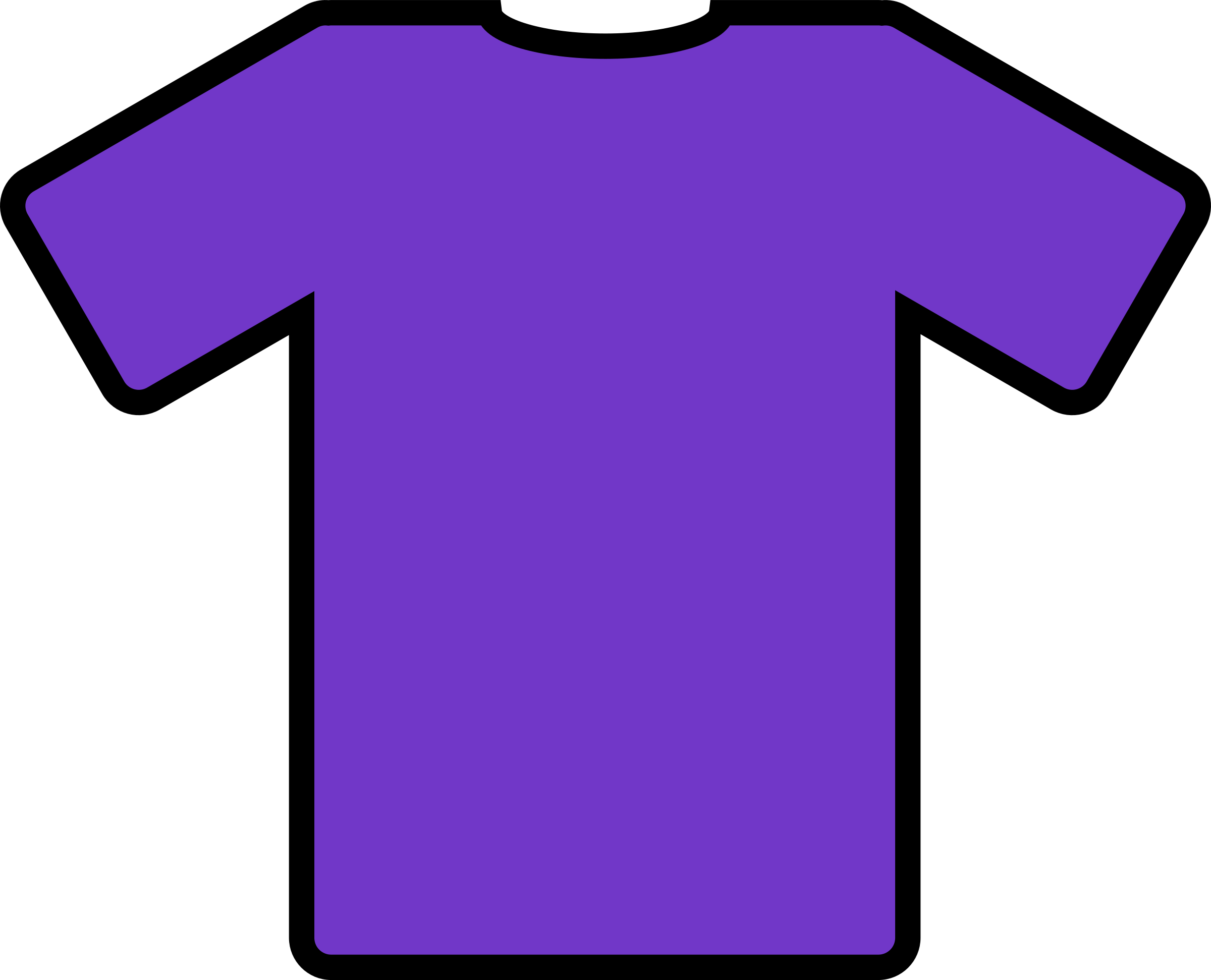 purple t-shirt by ryanlerch