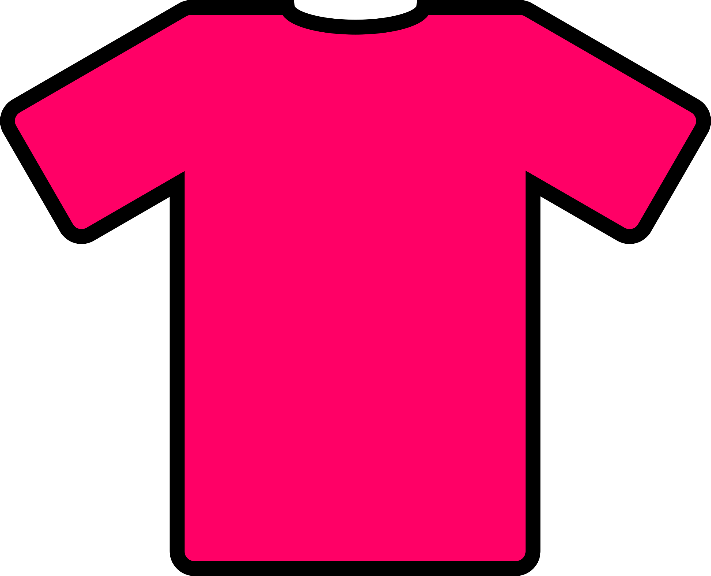 pink t-shirt by ryanlerch