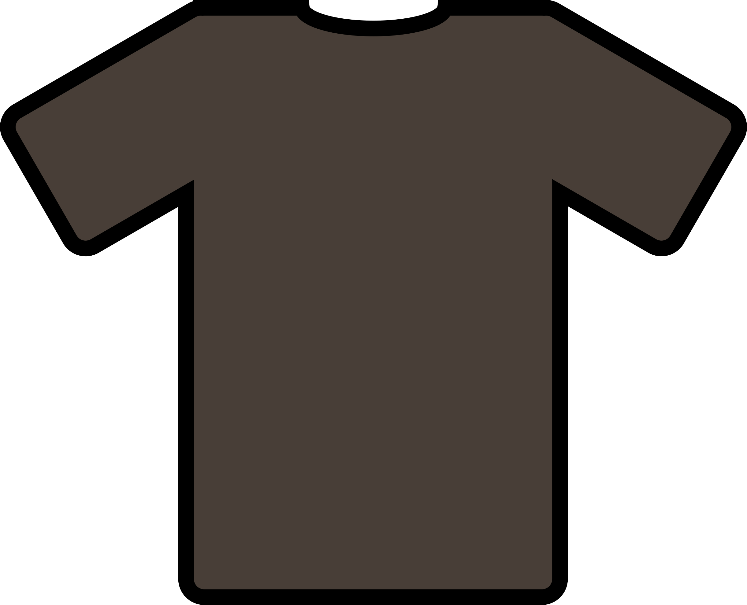 brown t-shirt by ryanlerch